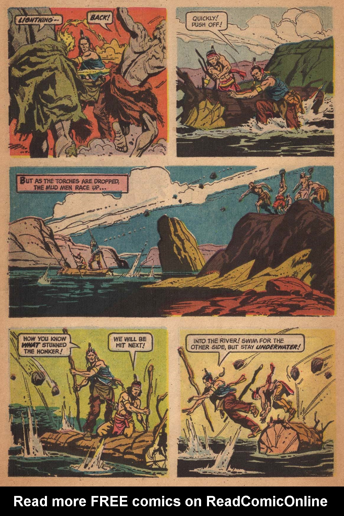 Read online Turok, Son of Stone comic -  Issue #47 - 30