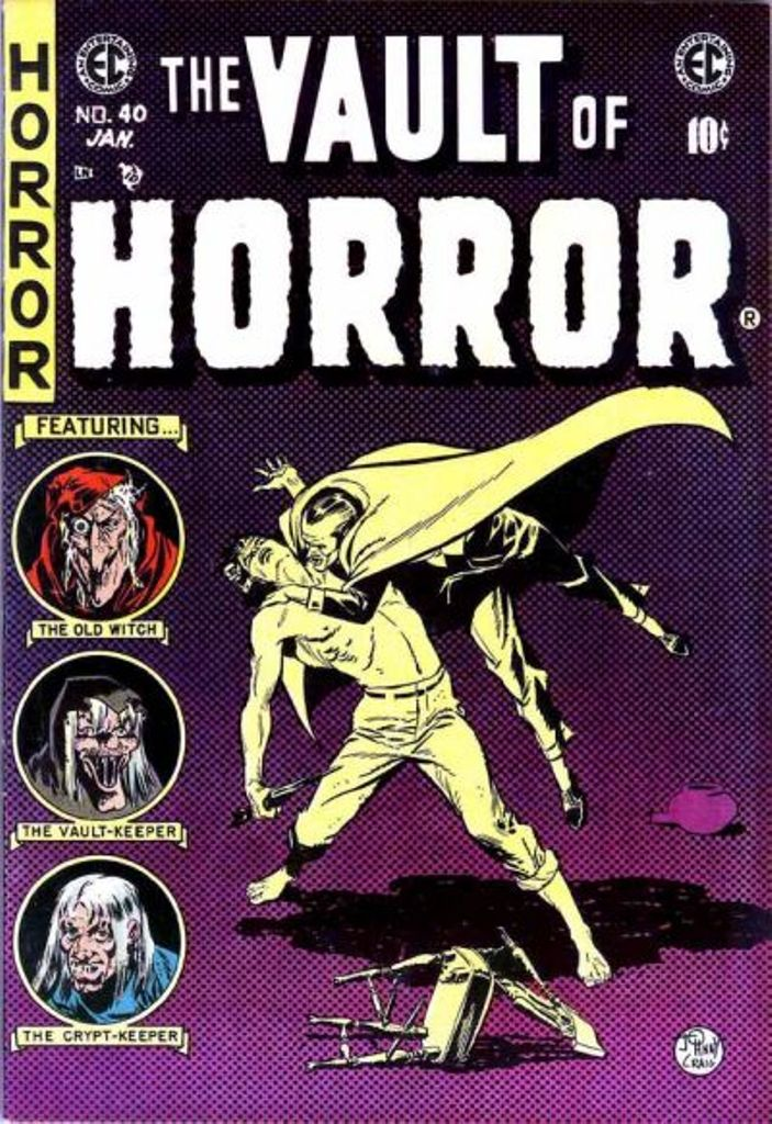 The Vault of Horror (1950) issue 40 - Page 1