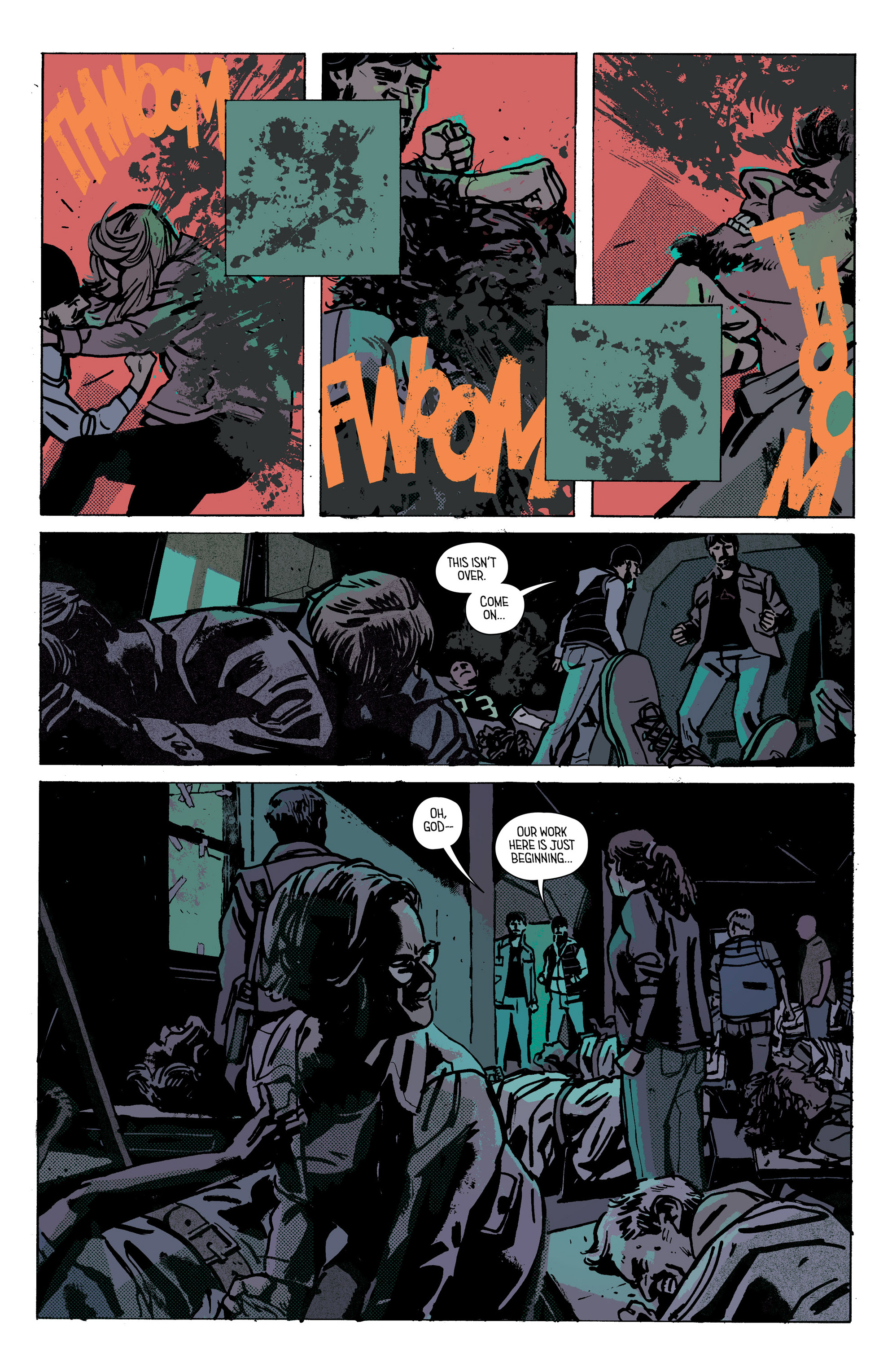 Read online Outcast by Kirkman & Azaceta comic -  Issue #28 - 11