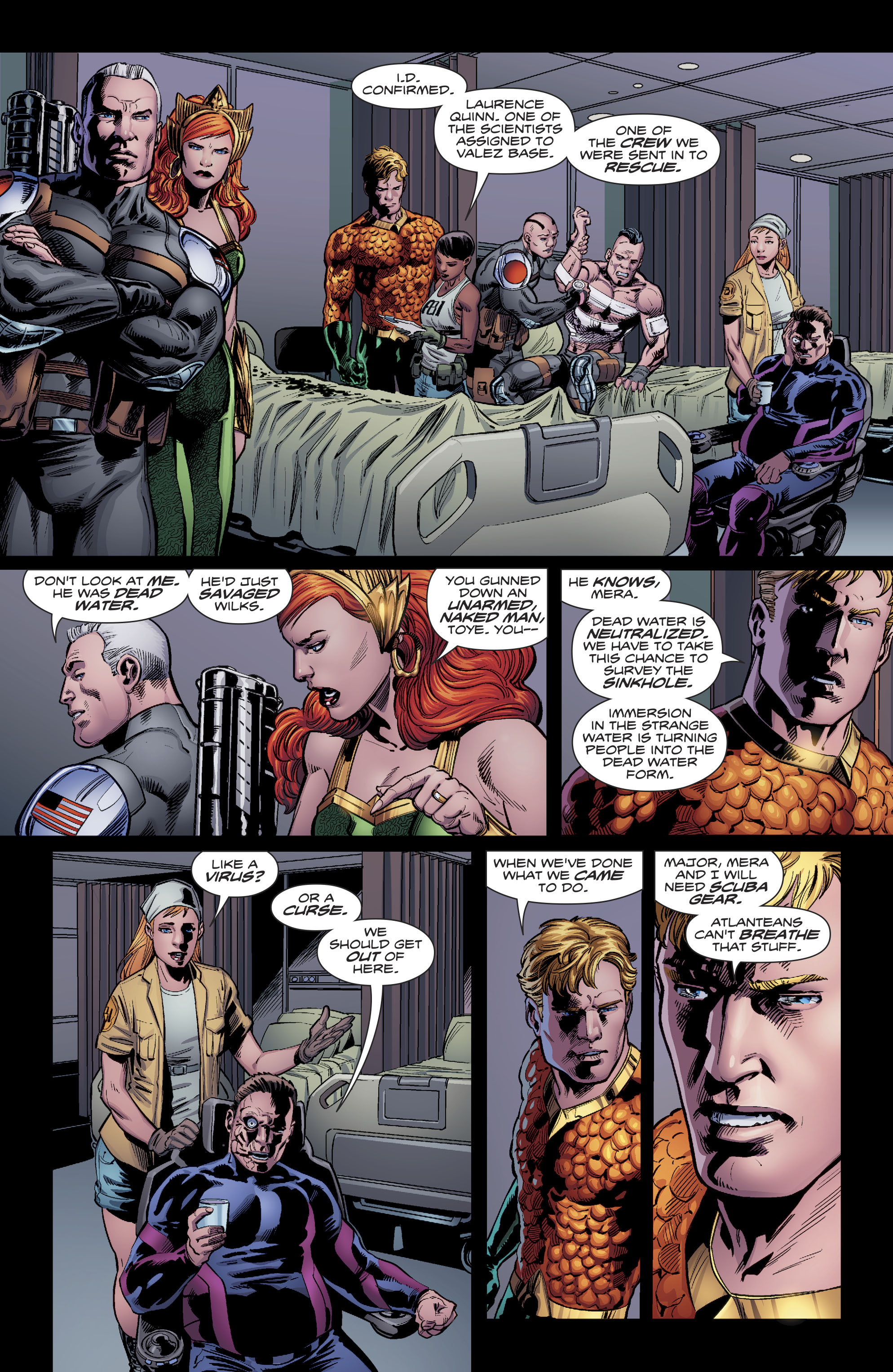 Aquaman (2016) issue 20 - Page 18