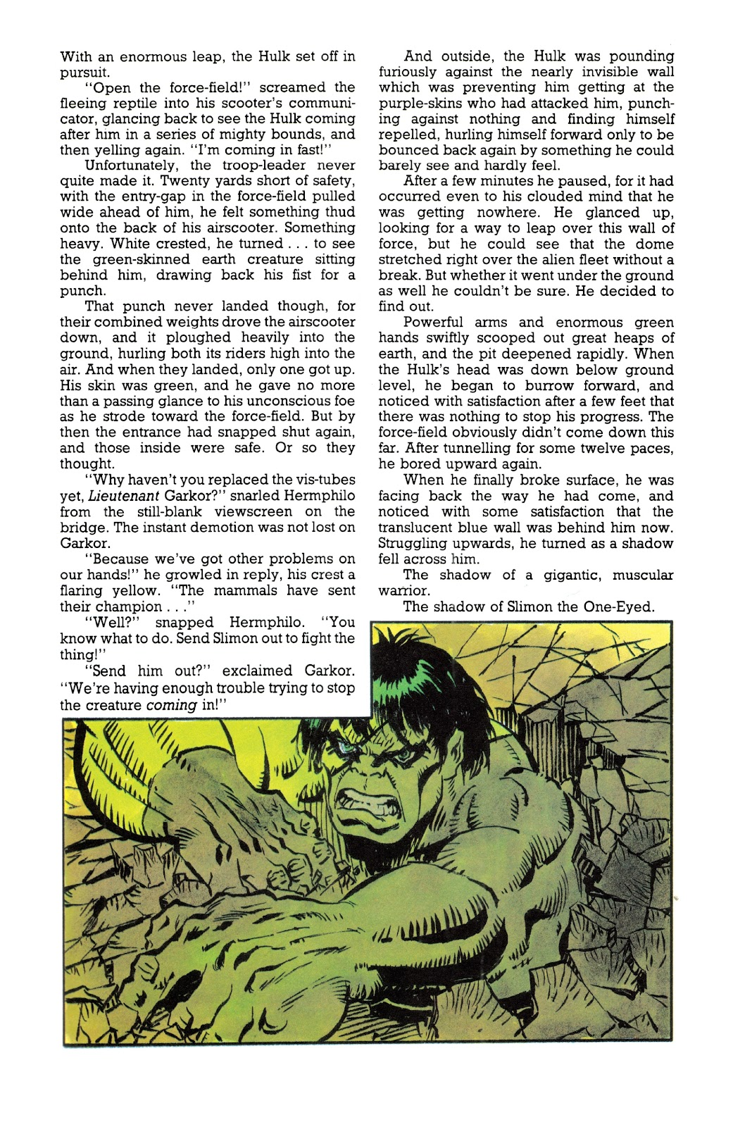 Read online Hulk: From The Marvel UK Vaults comic -  Issue # TPB (Part 3) - 8