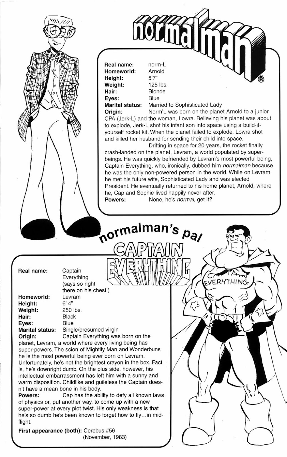 Read online Normalman 20th Anniversary Special comic -  Issue # Full - 35