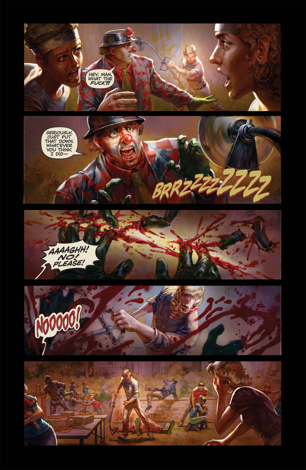 Read online Abattoir comic -  Issue #1 - 6
