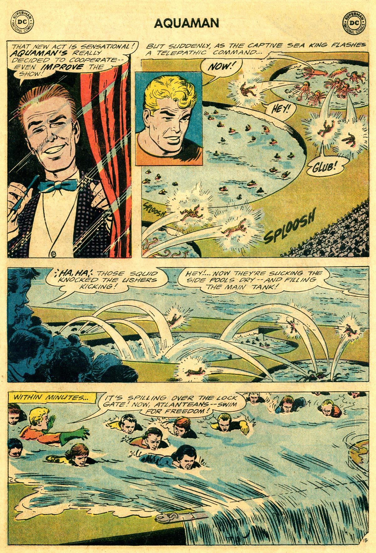 Read online Aquaman (1962) comic -  Issue #19 - 21