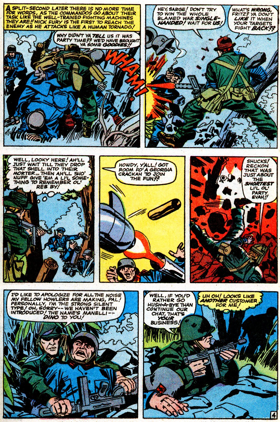 Read online Sgt. Fury comic -  Issue # _Special 5 - 41