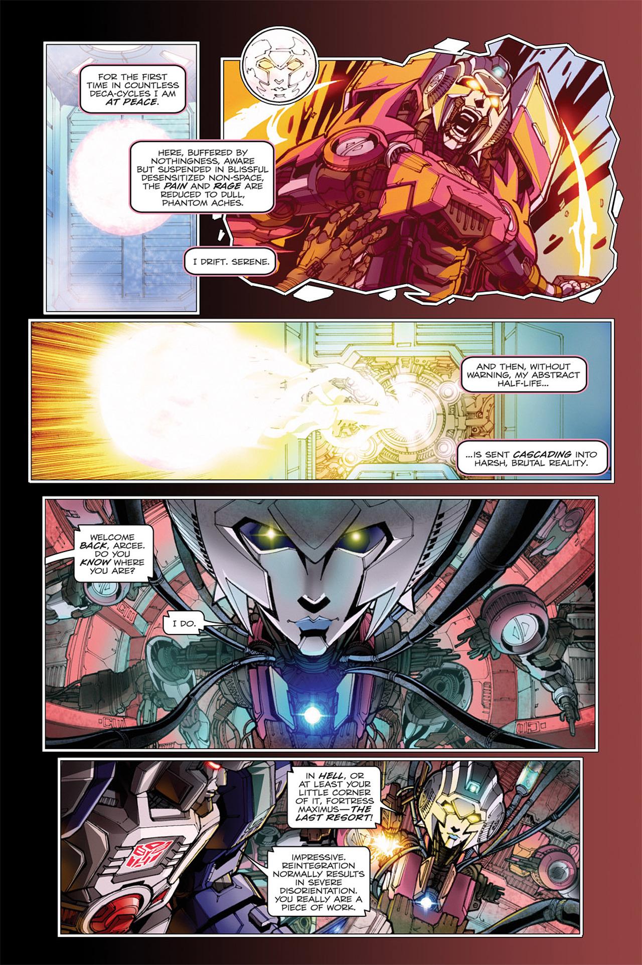 Read online Transformers: Spotlight - Arcee comic -  Issue # Full - 18