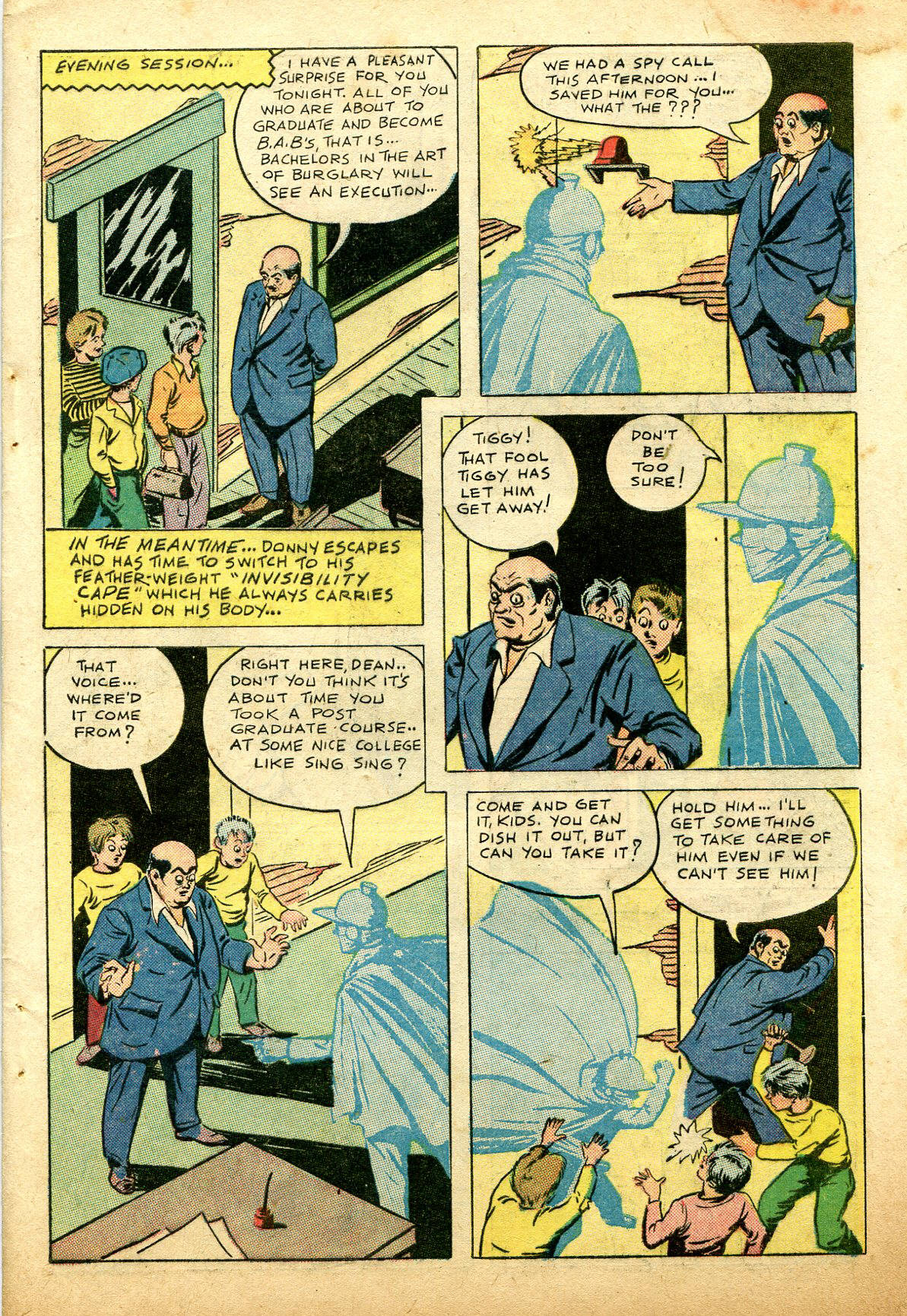 Read online Shadow Comics comic -  Issue #74 - 49