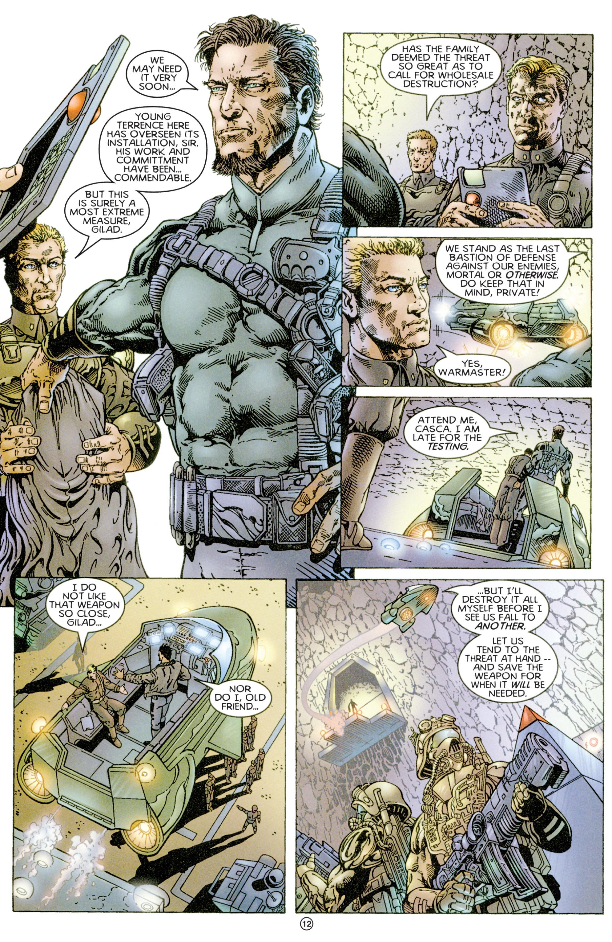 Read online Eternal Warriors comic -  Issue # Issue Time & Treachery - 11