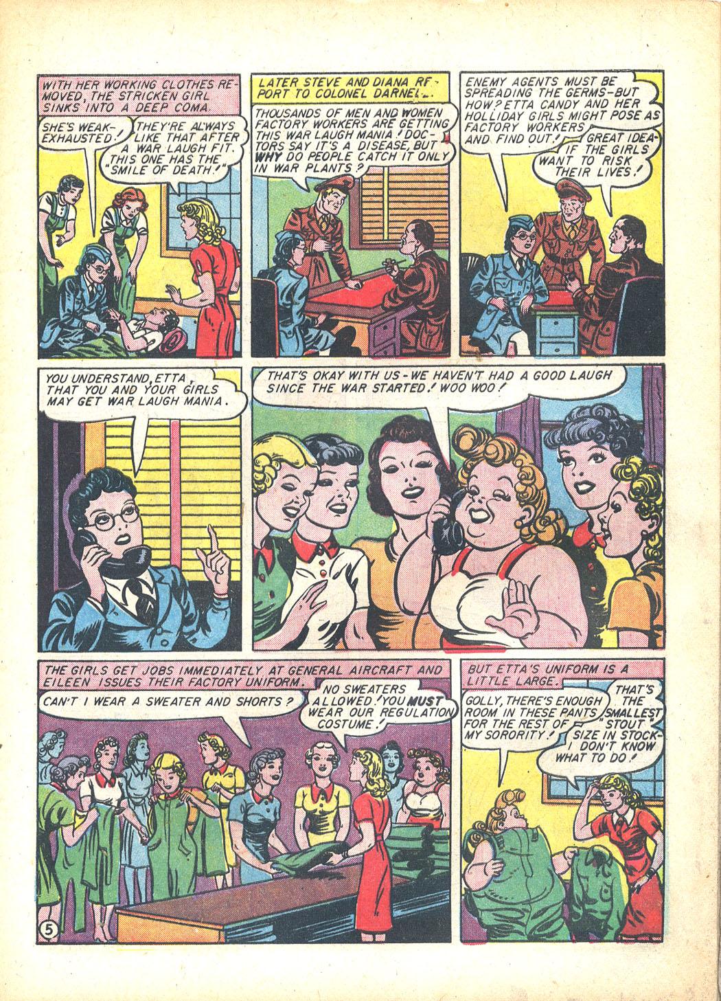 Read online Sensation (Mystery) Comics comic -  Issue #23 - 7