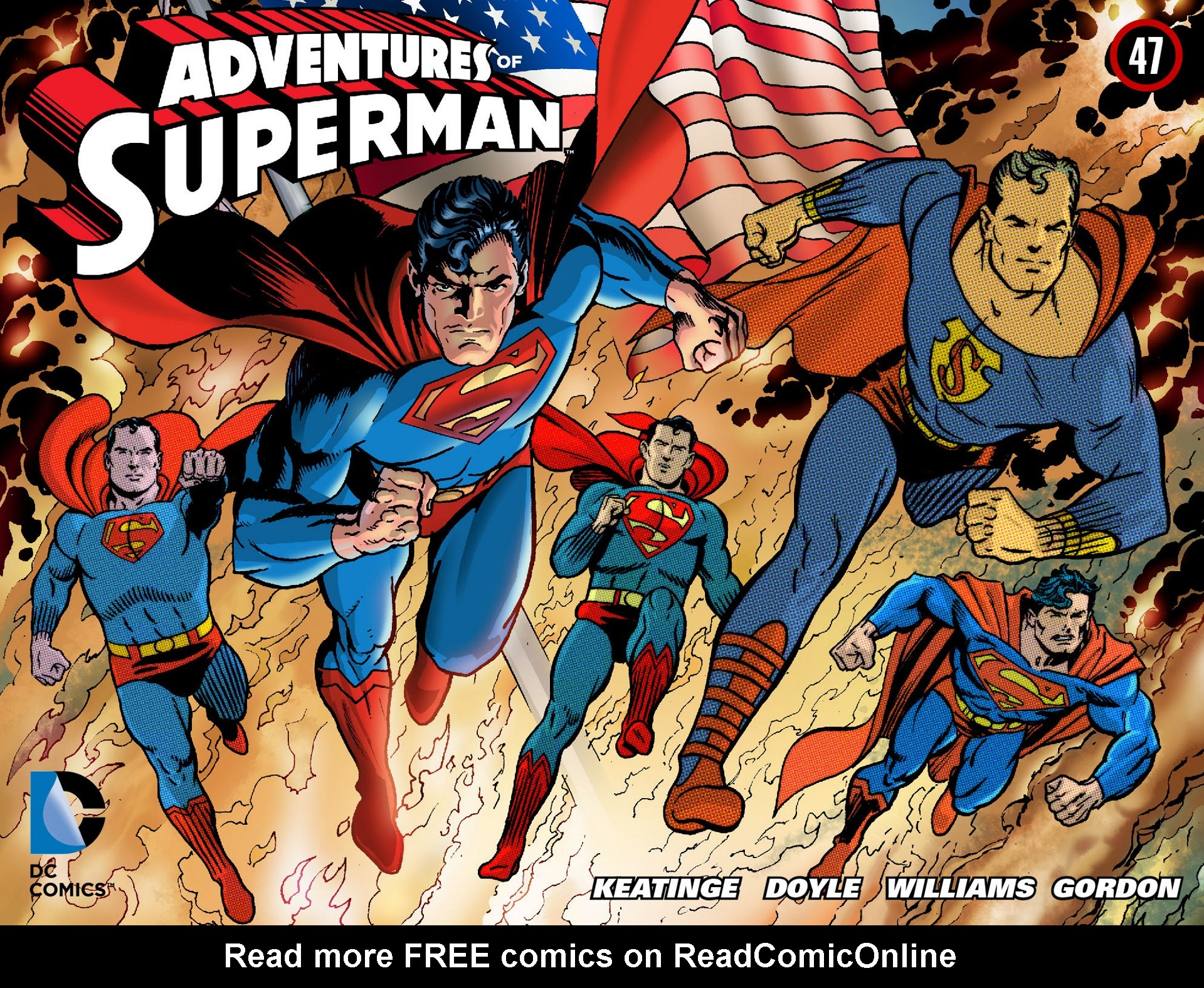 Read online Adventures of Superman [I] comic -  Issue #47 - 1