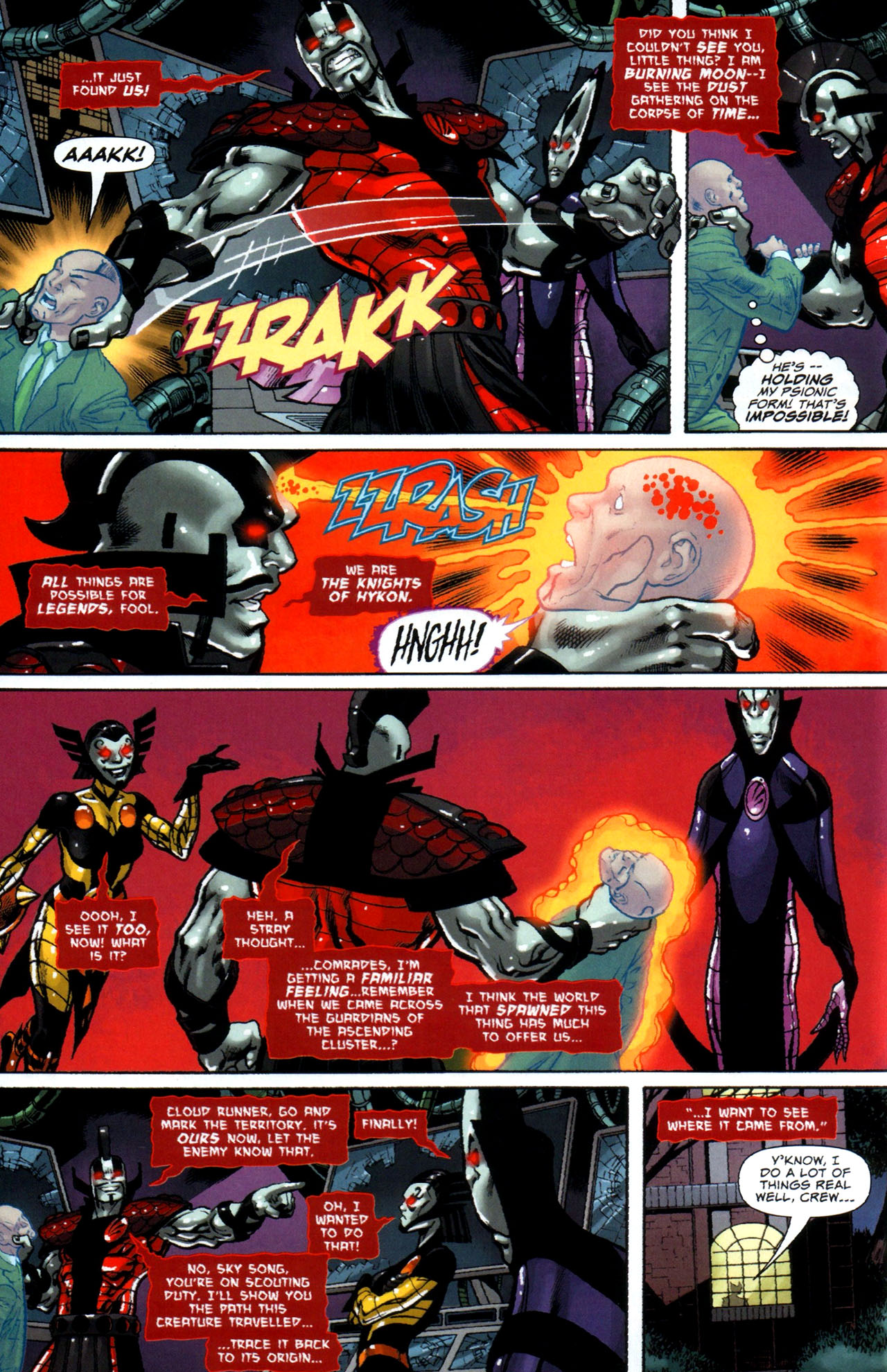 Read online Uncanny X-Men: First Class comic -  Issue #5 - 5