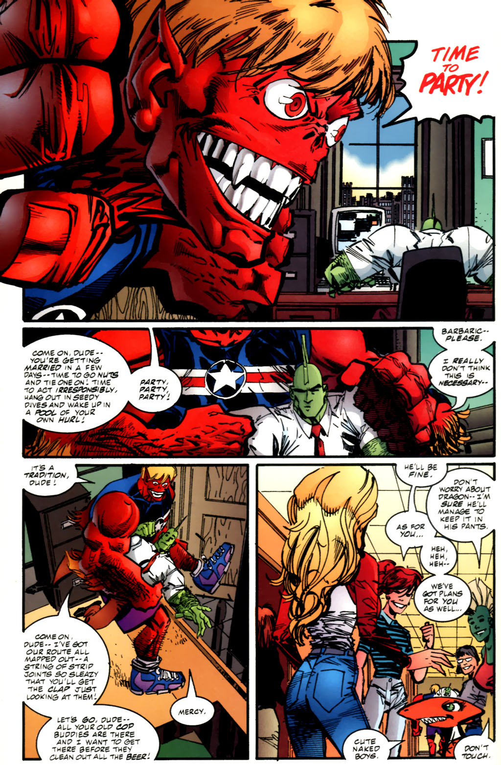 The Savage Dragon (1993) Issue #61 #64 - English 11