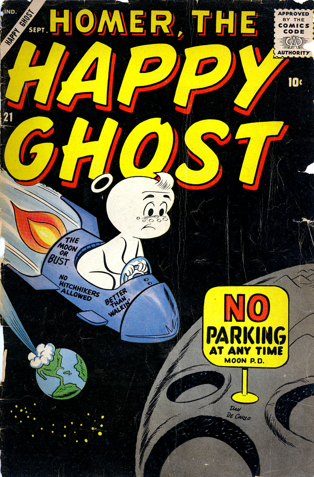 Homer, the Happy Ghost 21 Page 1