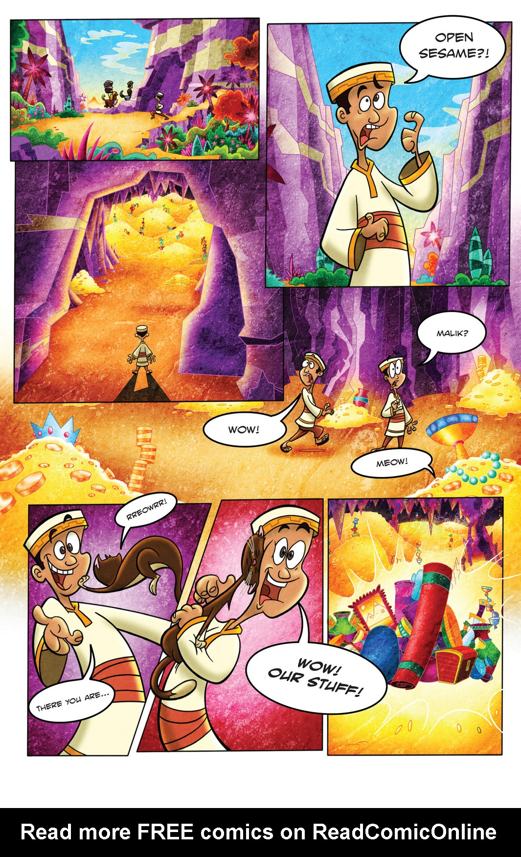Read online 1001 Nights comic -  Issue #4 - 11