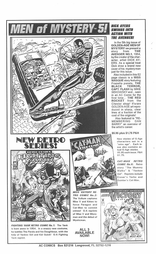 Read online Golden-Age Men of Mystery comic -  Issue #4 - 42