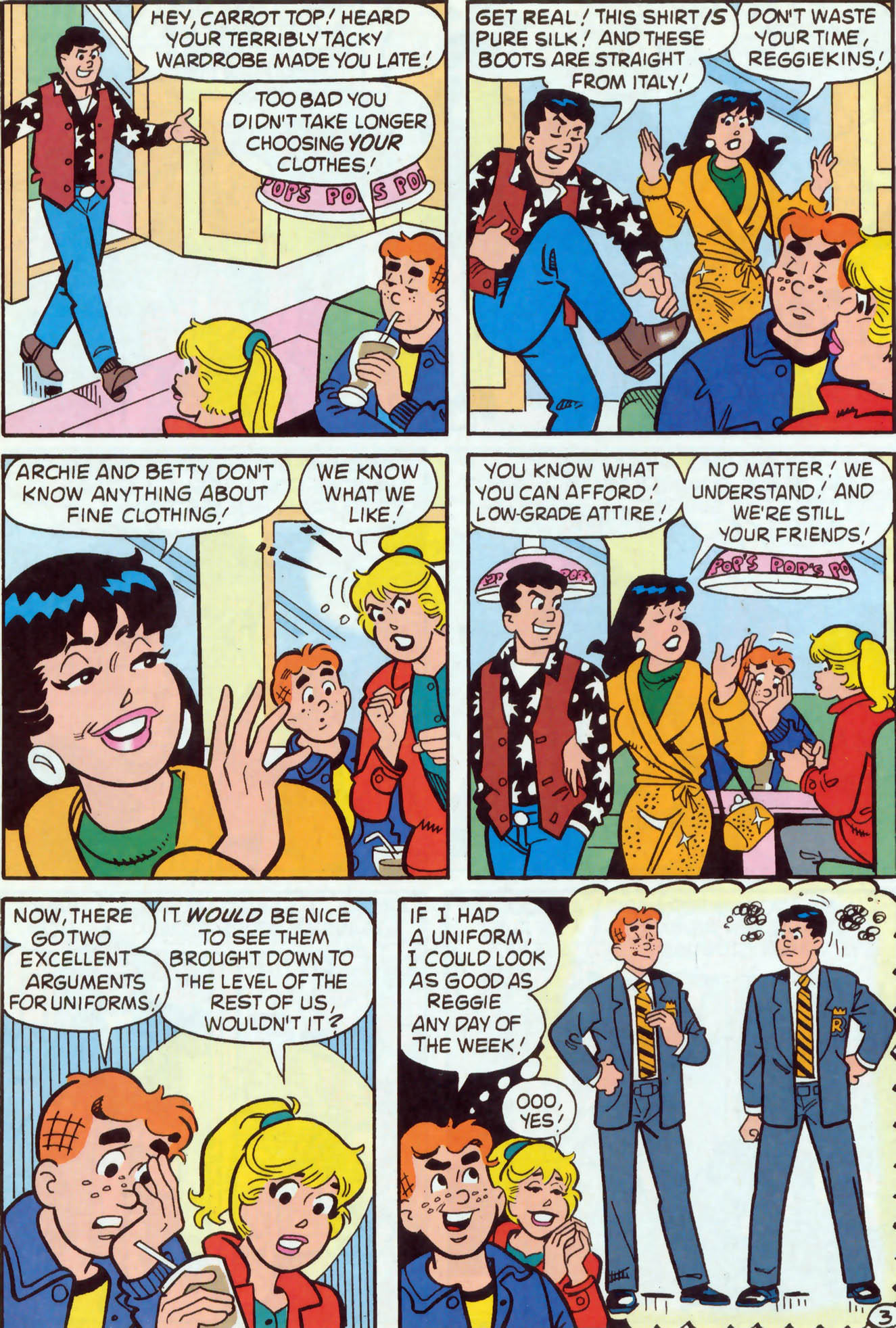 Read online Archie (1960) comic -  Issue #467 - 4