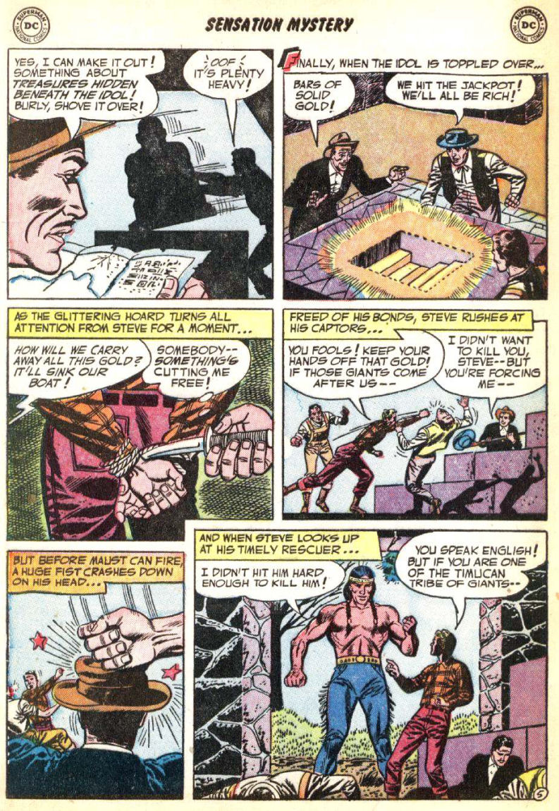 Read online Sensation (Mystery) Comics comic -  Issue #115 - 32