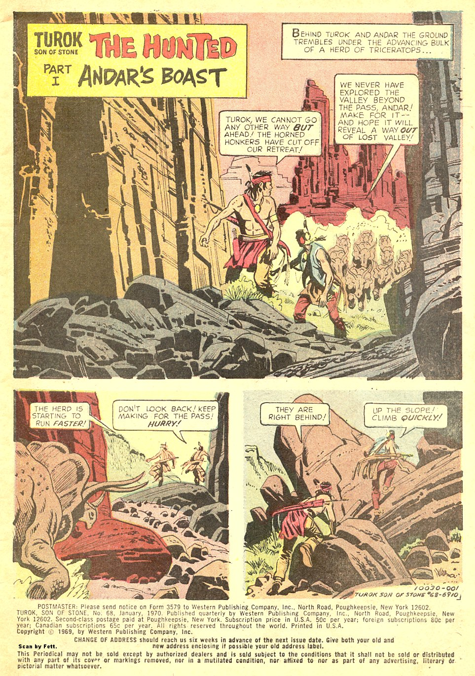 Read online Turok, Son of Stone comic -  Issue #68 - 3