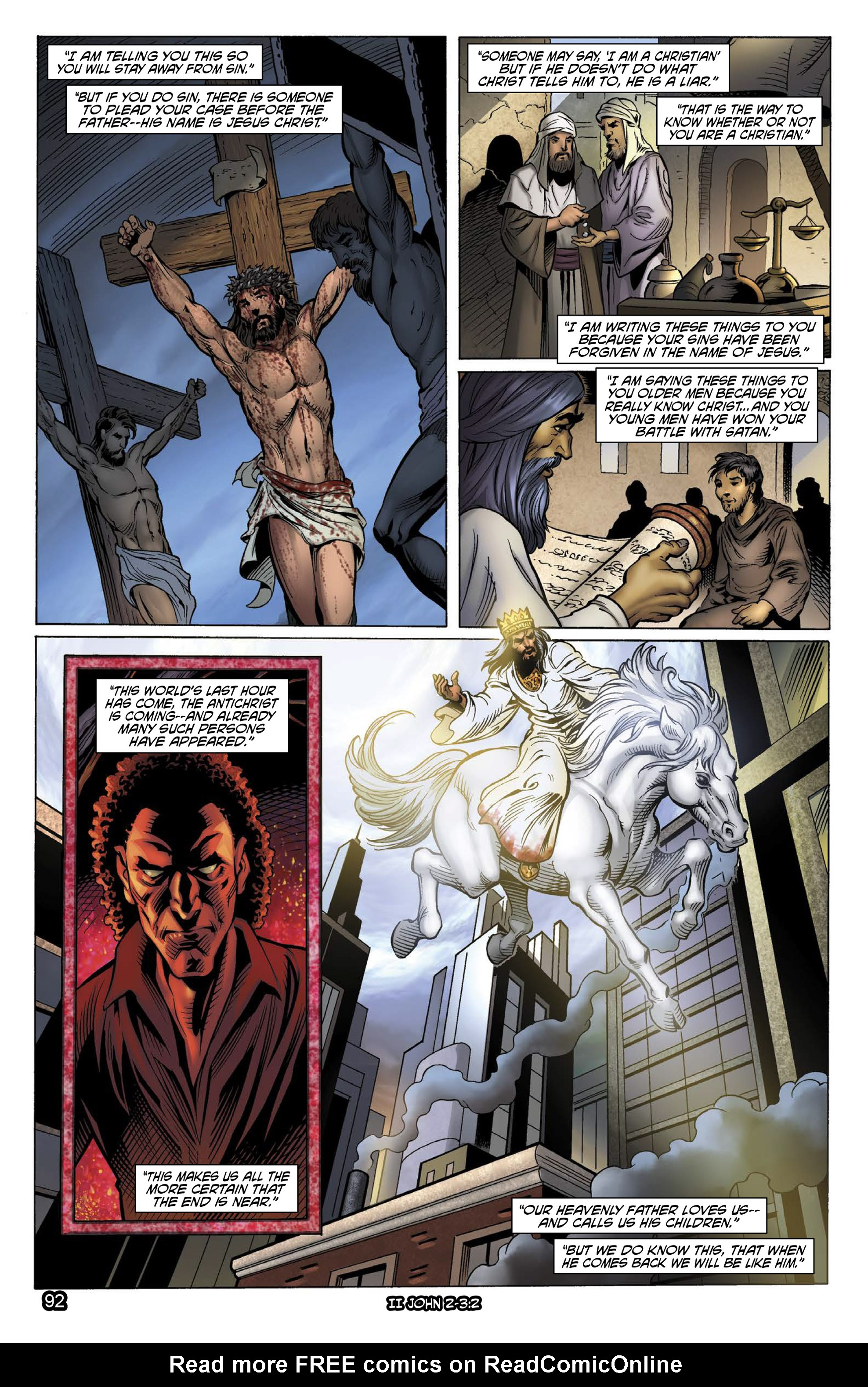 Comic The Kingstone Bible issue 11