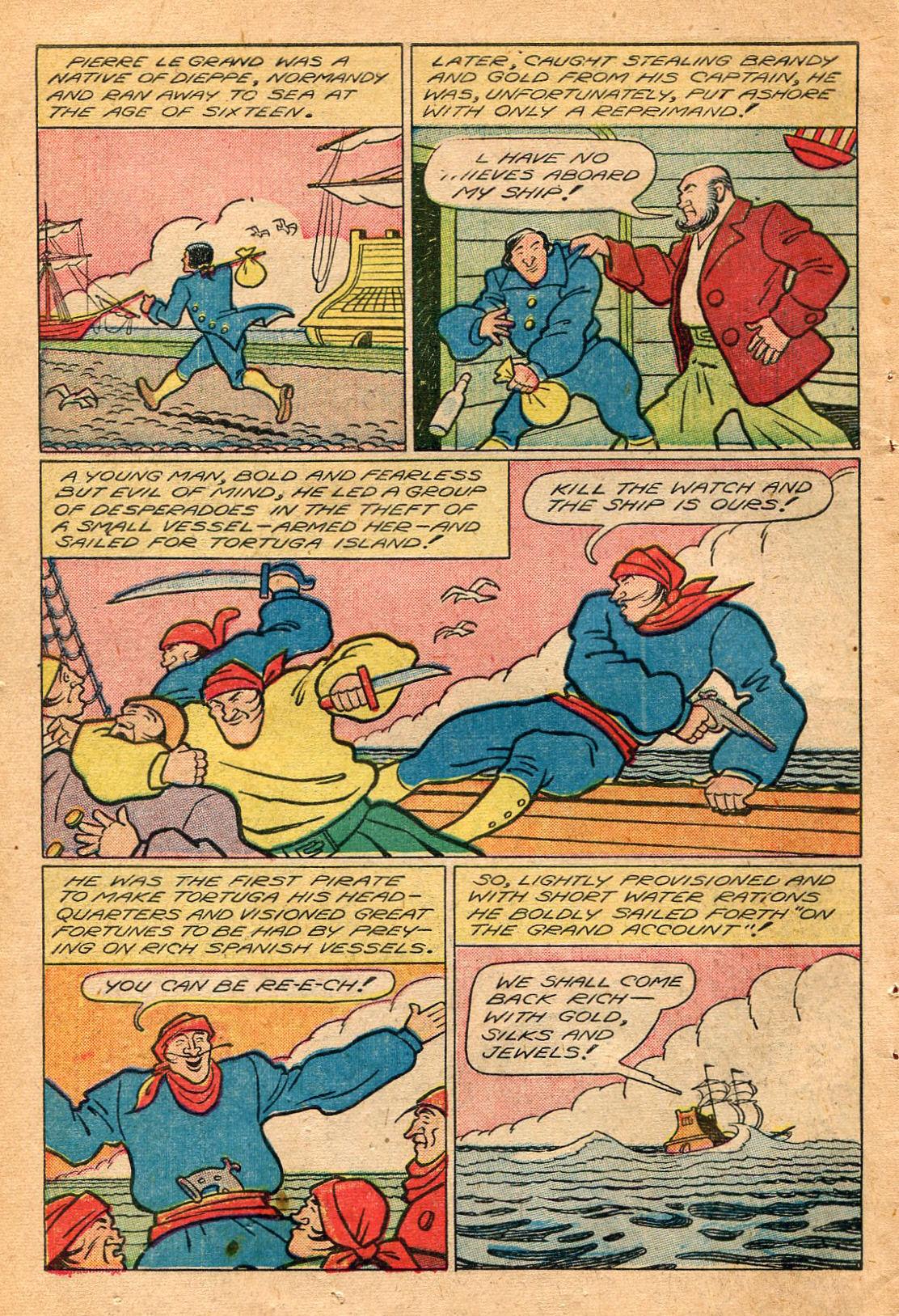Read online Shadow Comics comic -  Issue #60 - 44