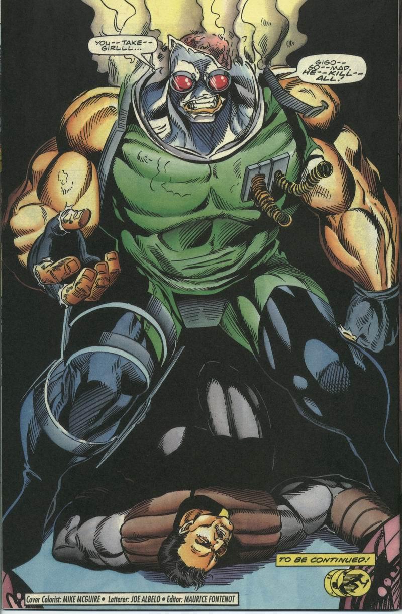 Read online Secret Weapons comic -  Issue #17 - 22