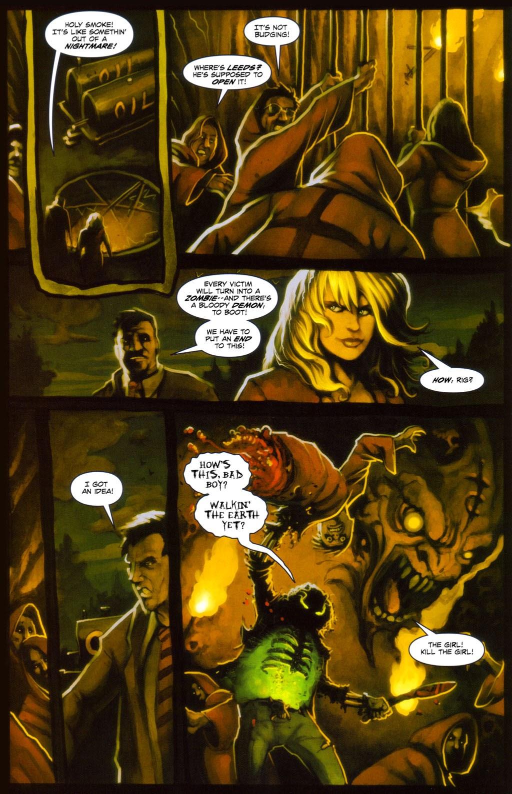 Read online Evil Ernie in Santa Fe comic -  Issue #4 - 14