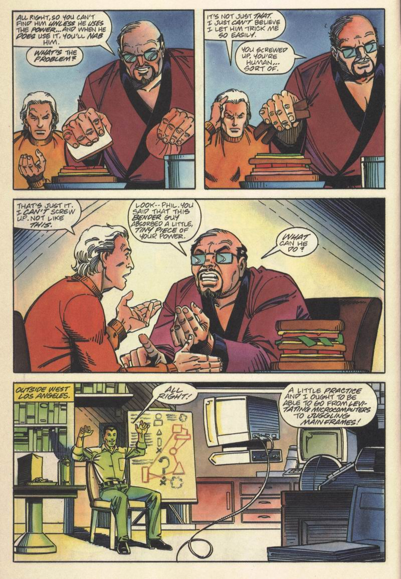 Read online Solar, Man of the Atom comic -  Issue #15 - 7