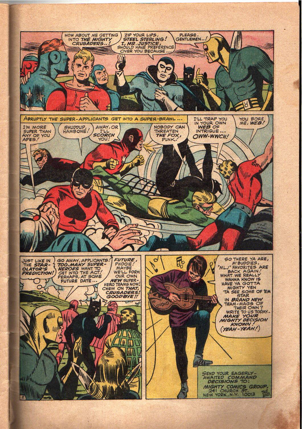 The Mighty Crusaders (1965) Issue #4 #4 - English 25