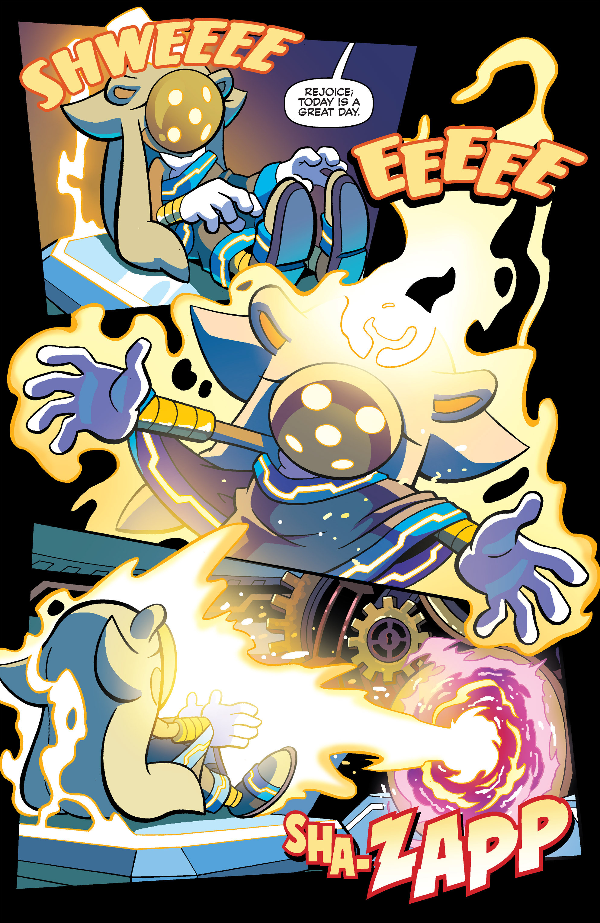 Read online Sonic Universe comic -  Issue #80 - 21