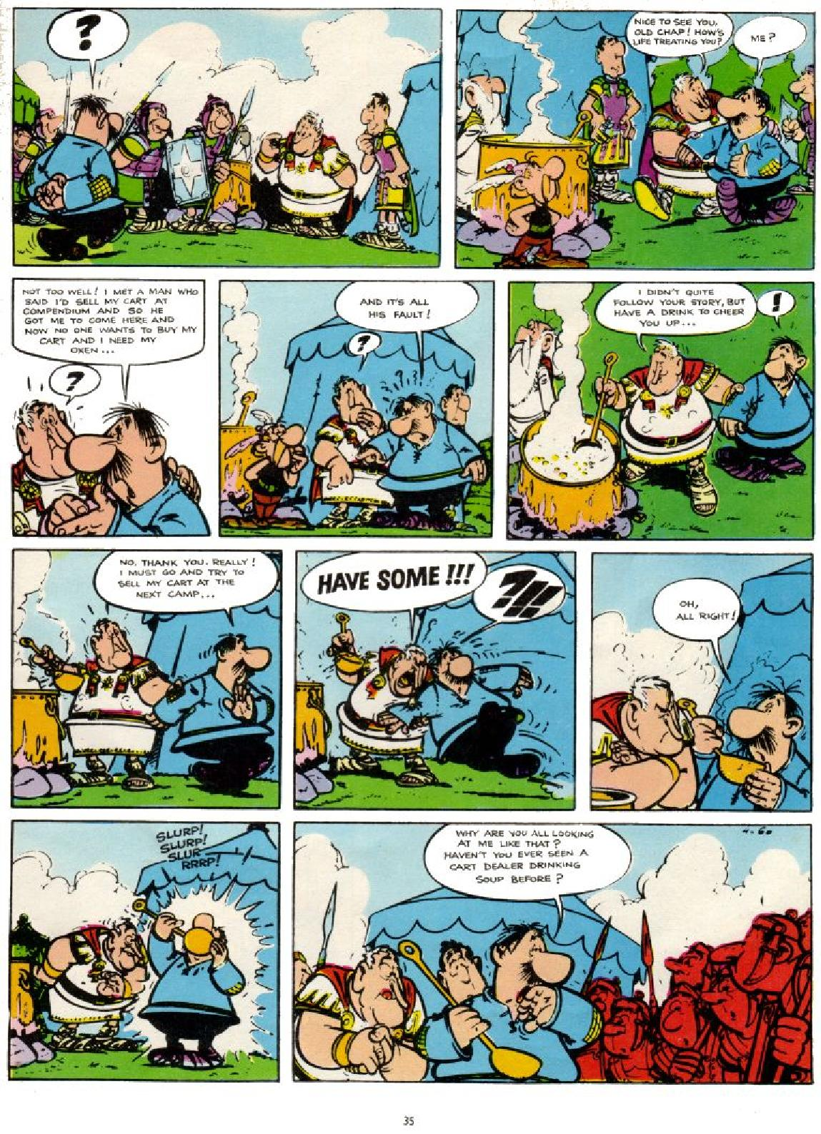 Read online Asterix comic -  Issue #1 - 35