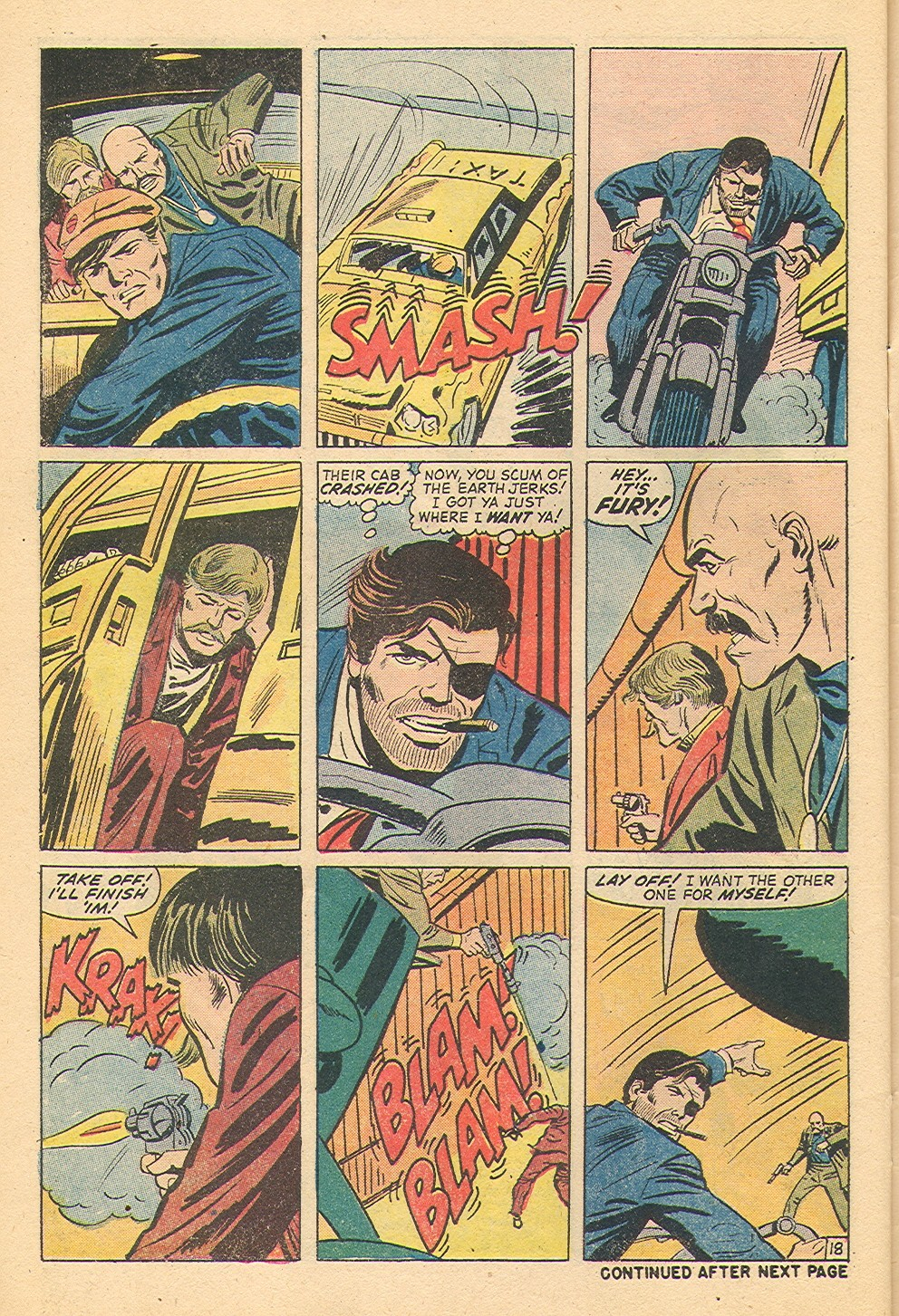 Read online Sgt. Fury comic -  Issue #100 - 29
