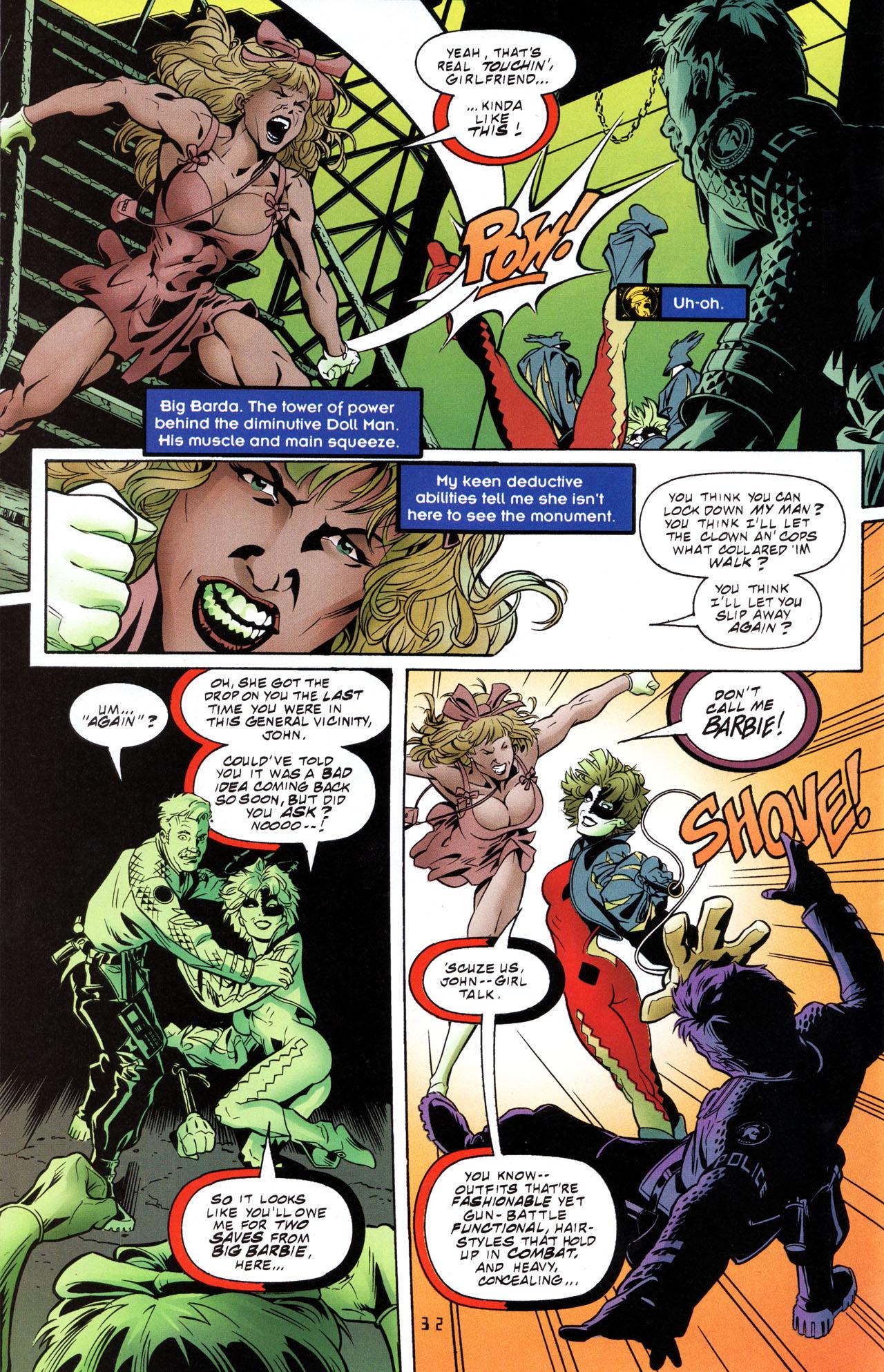Read online Tangent Comics/ The Joker comic -  Issue # Full - 33