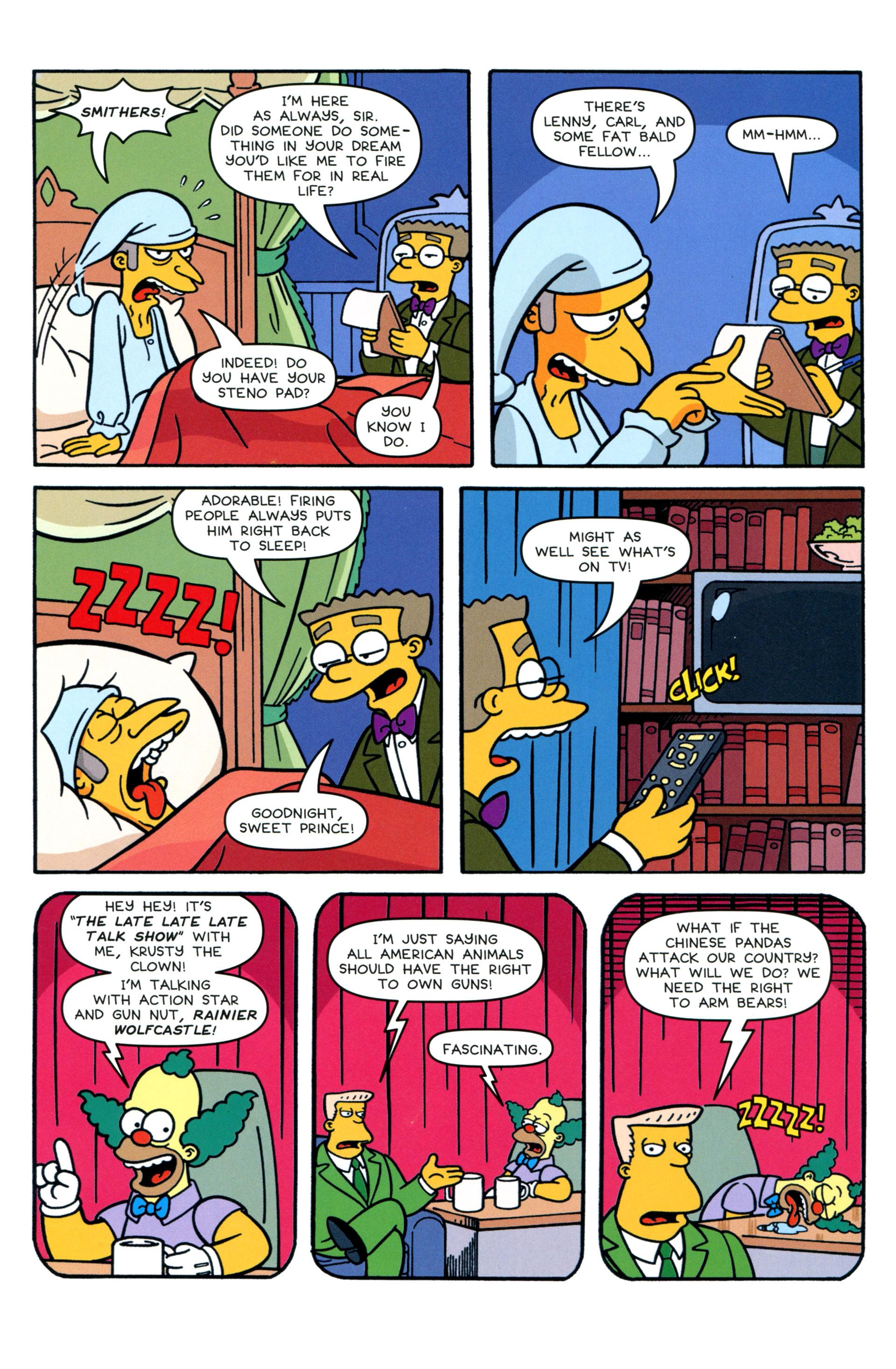 Read online Simpsons Comics comic -  Issue #207 - 17