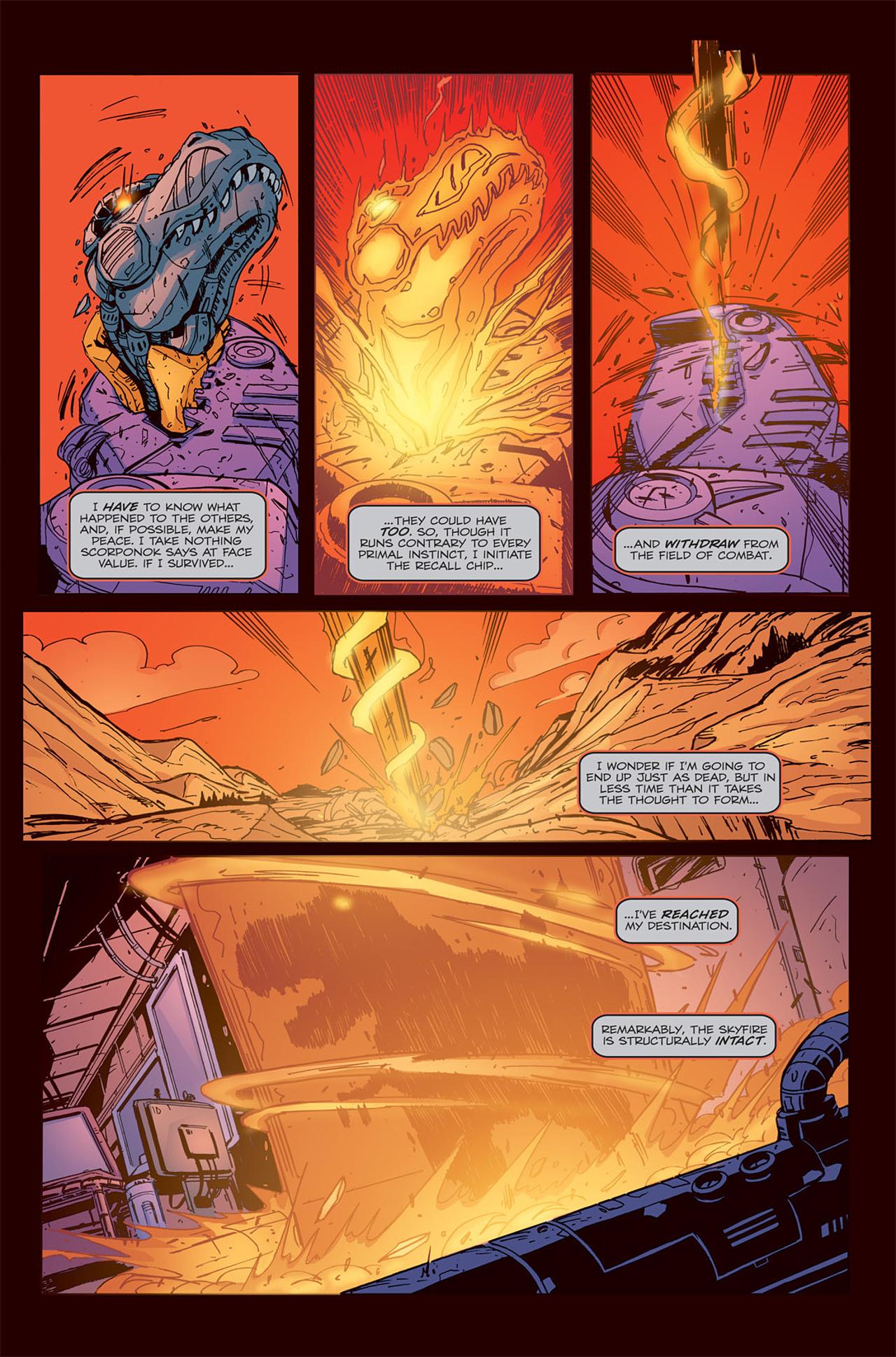 Read online Transformers Spotlight: Grimlock comic -  Issue # Full - 25