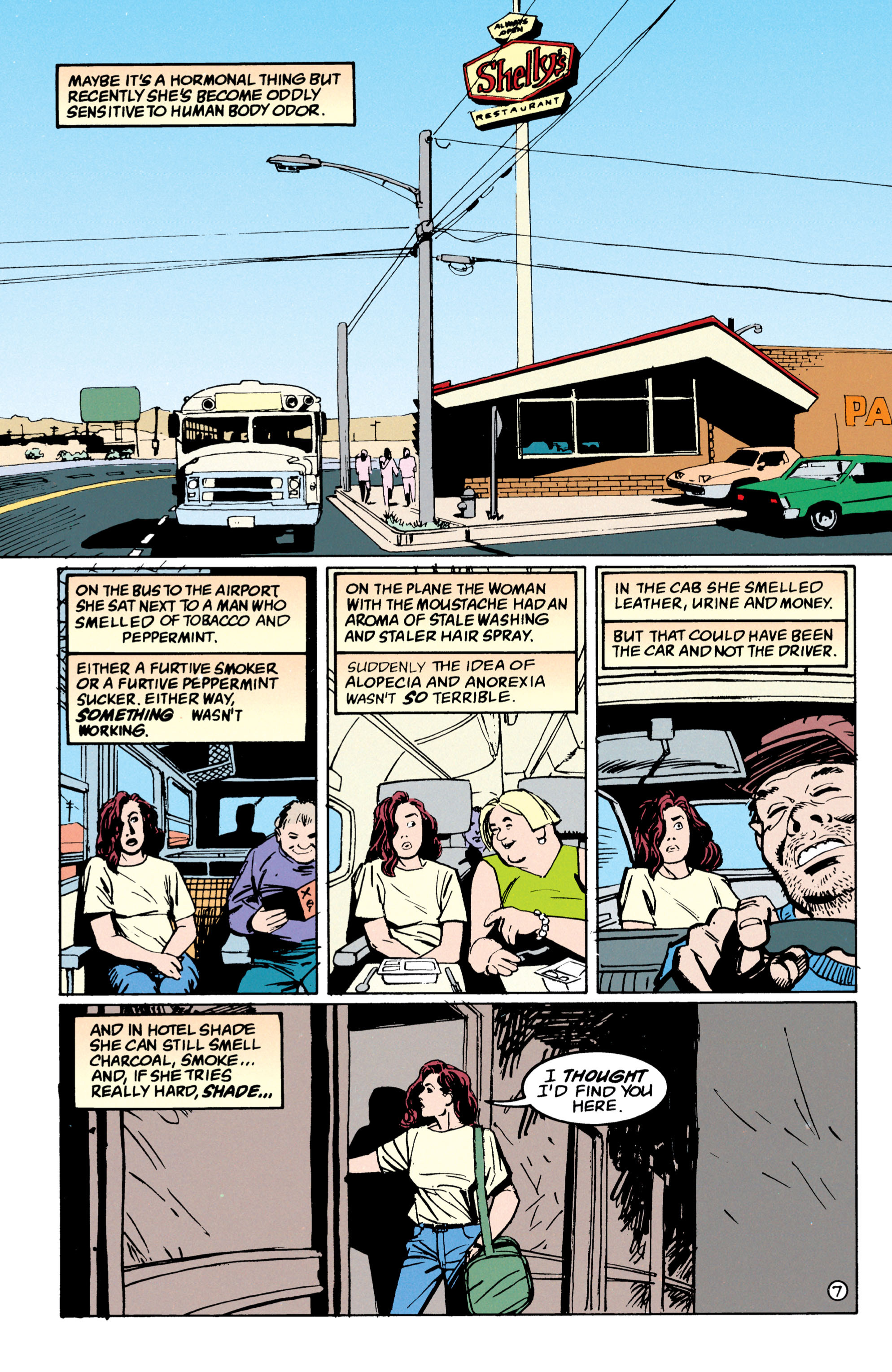 Read online Shade, the Changing Man comic -  Issue #53 - 8