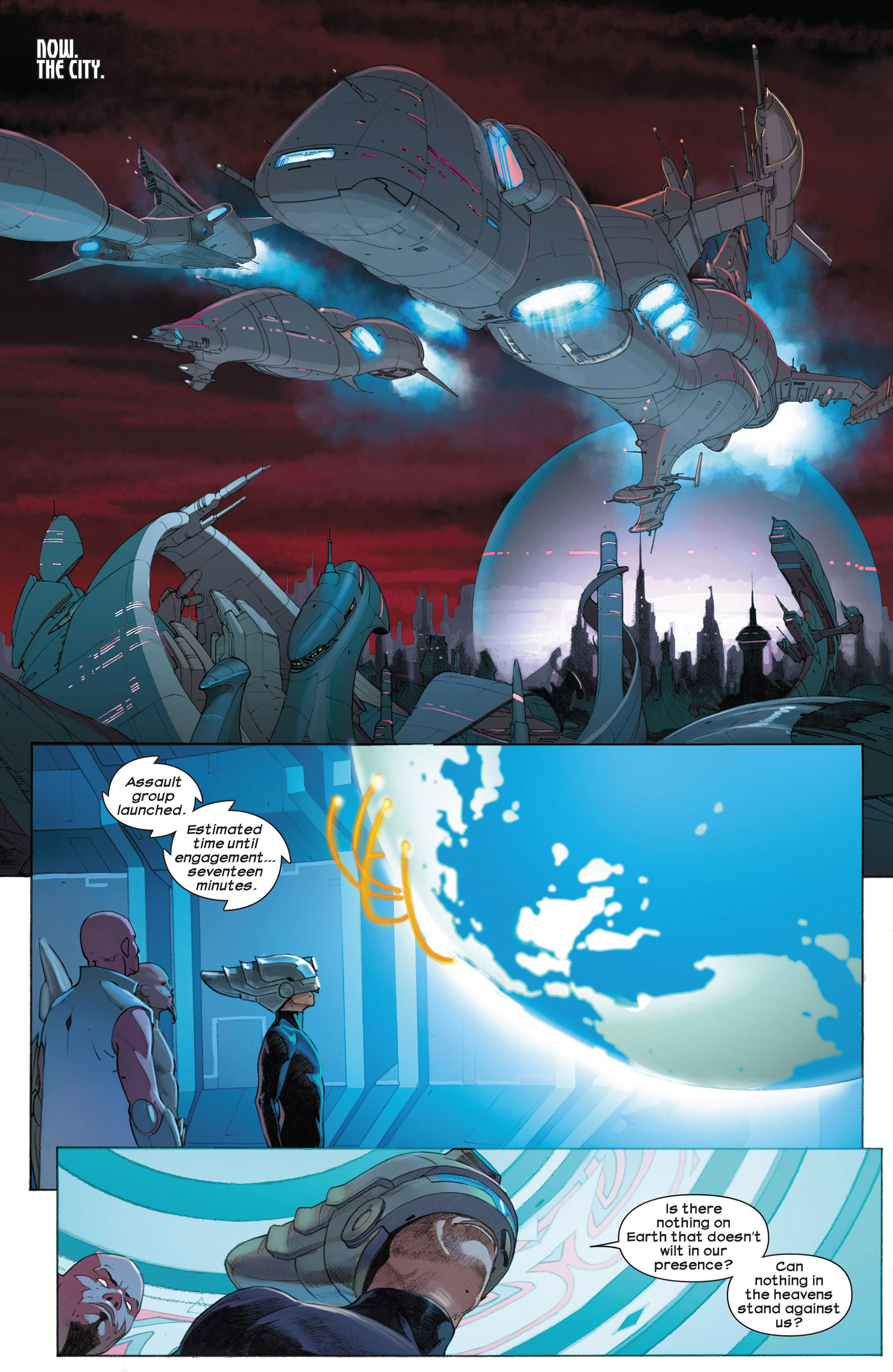 Read online Ultimate Comics Ultimates comic -  Issue #7 - 16