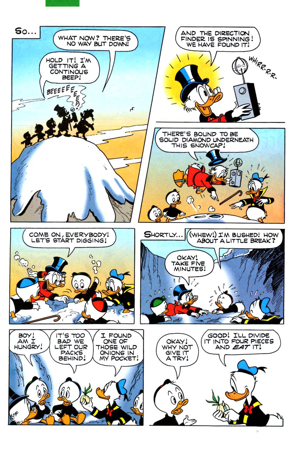 Read online Uncle Scrooge (1953) comic -  Issue #288 - 27