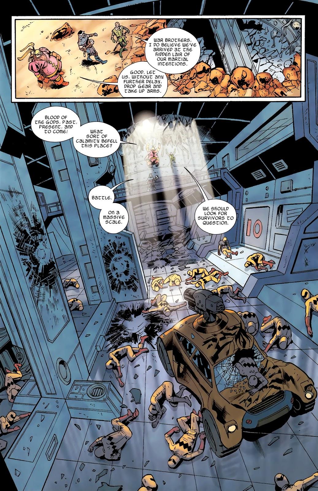 Warriors Three Issue #3 #3 - English 6