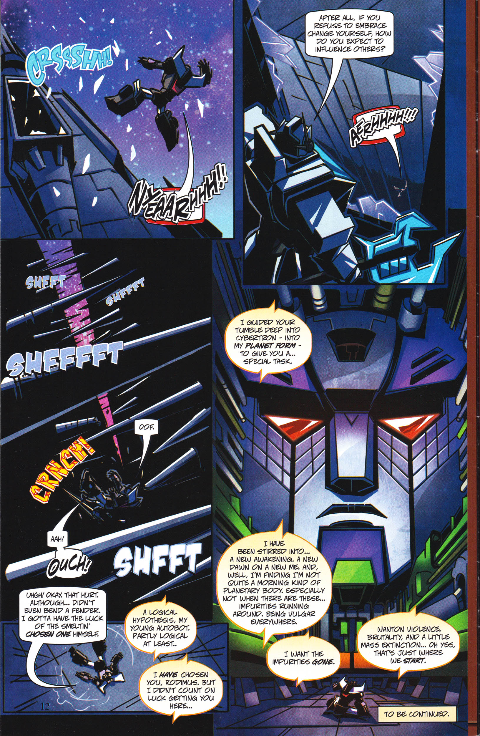 Read online Transformers: Collectors' Club comic -  Issue #65 - 12