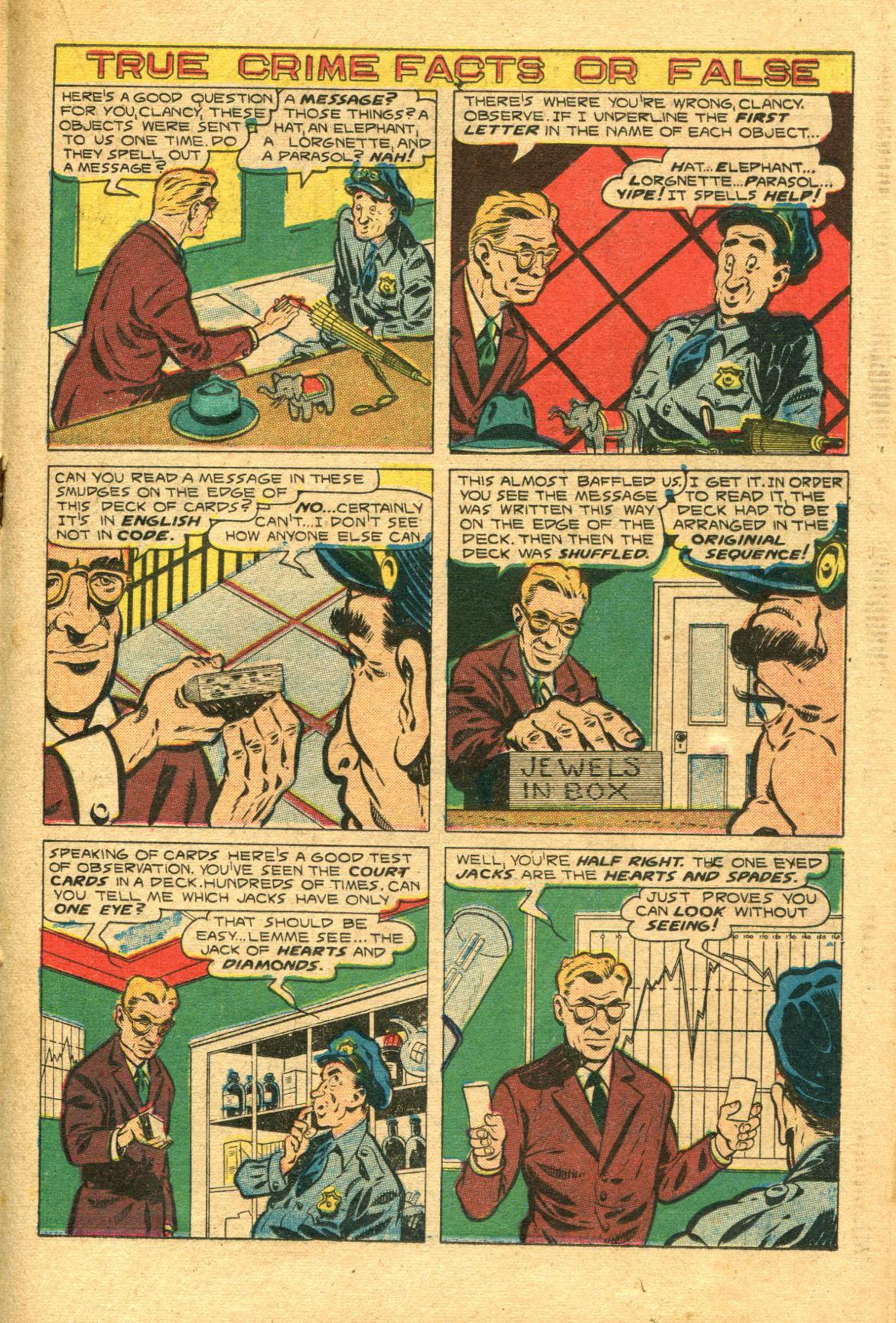 Read online Shadow Comics comic -  Issue #98 - 27