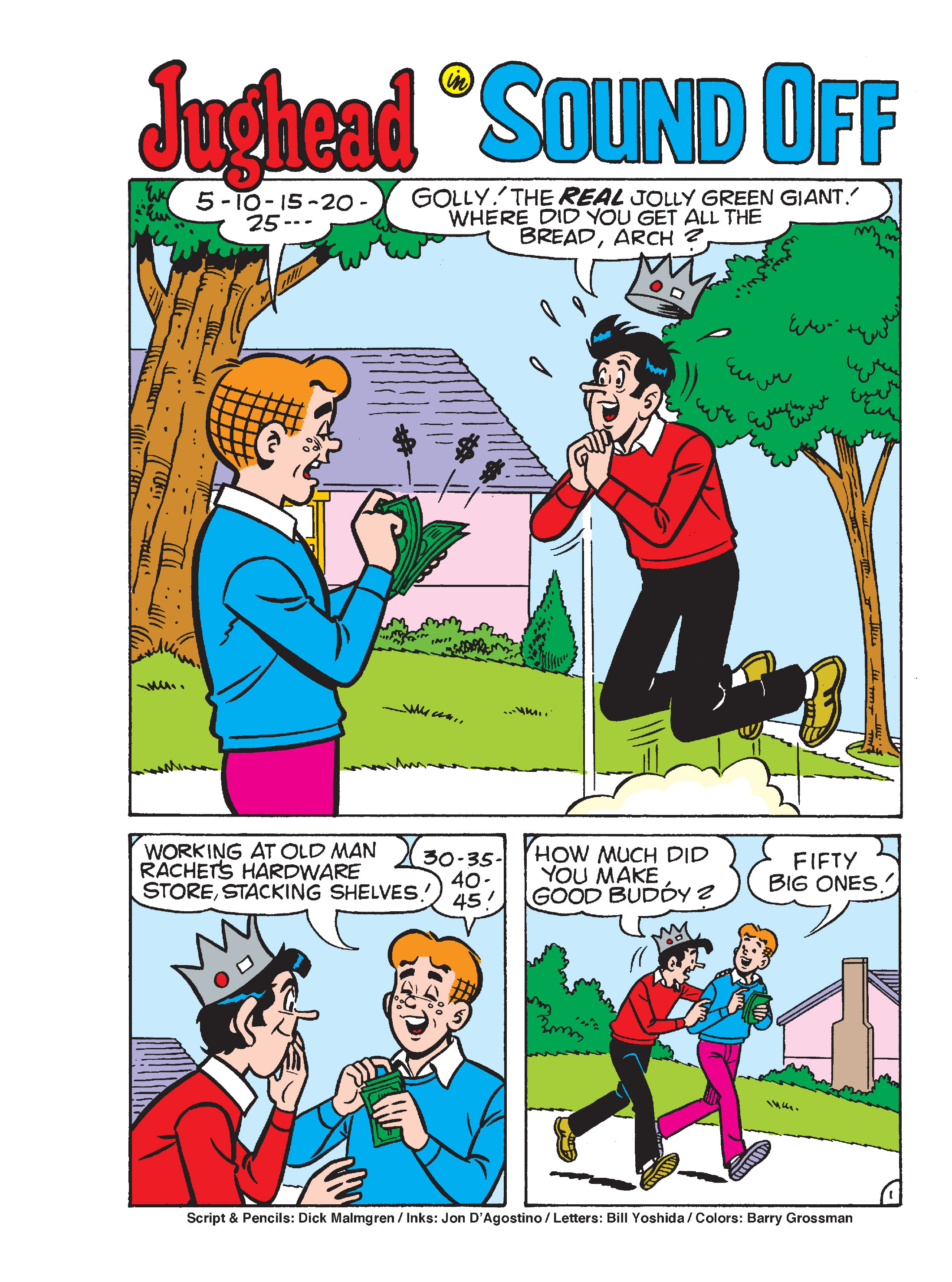 Read online Archie Giant Comics Collection comic -  Issue #Archie Giant Comics Collection TPB (Part 2) - 71