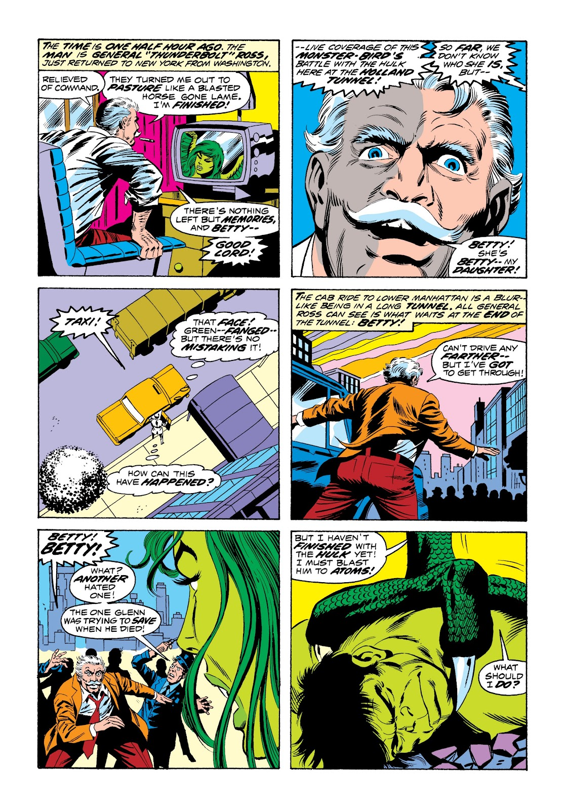 Read online Marvel Masterworks: The Incredible Hulk comic -  Issue # TPB 9 (Part 3) - 59