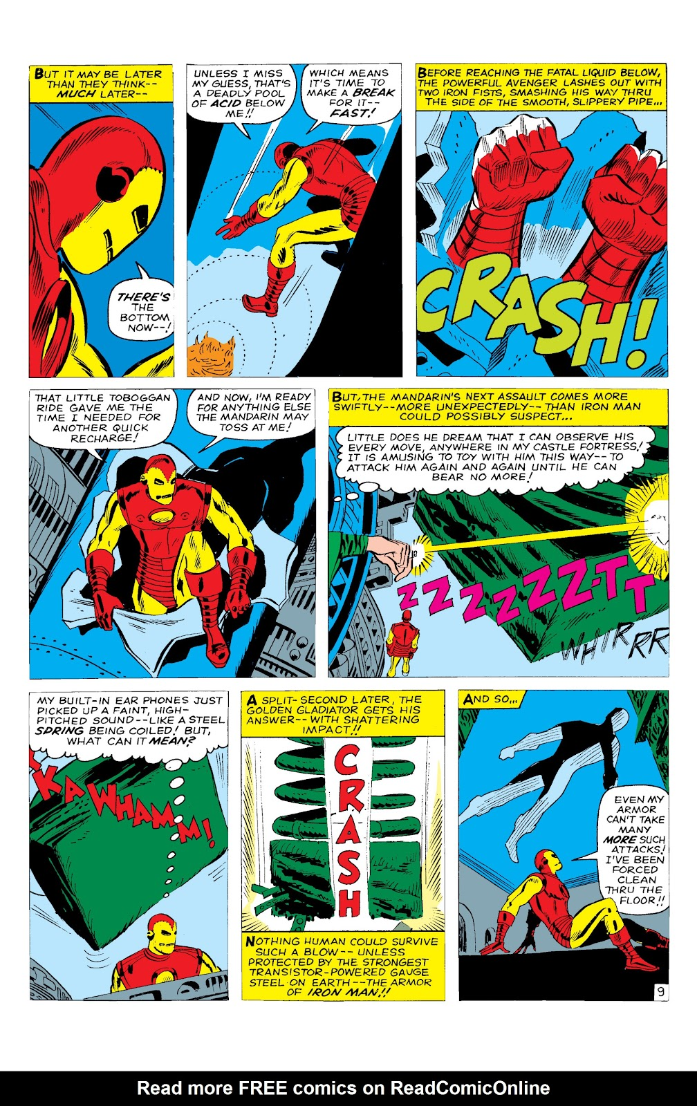 Read online Marvel Masterworks: The Invincible Iron Man comic -  Issue # TPB 2 (Part 1) - 70