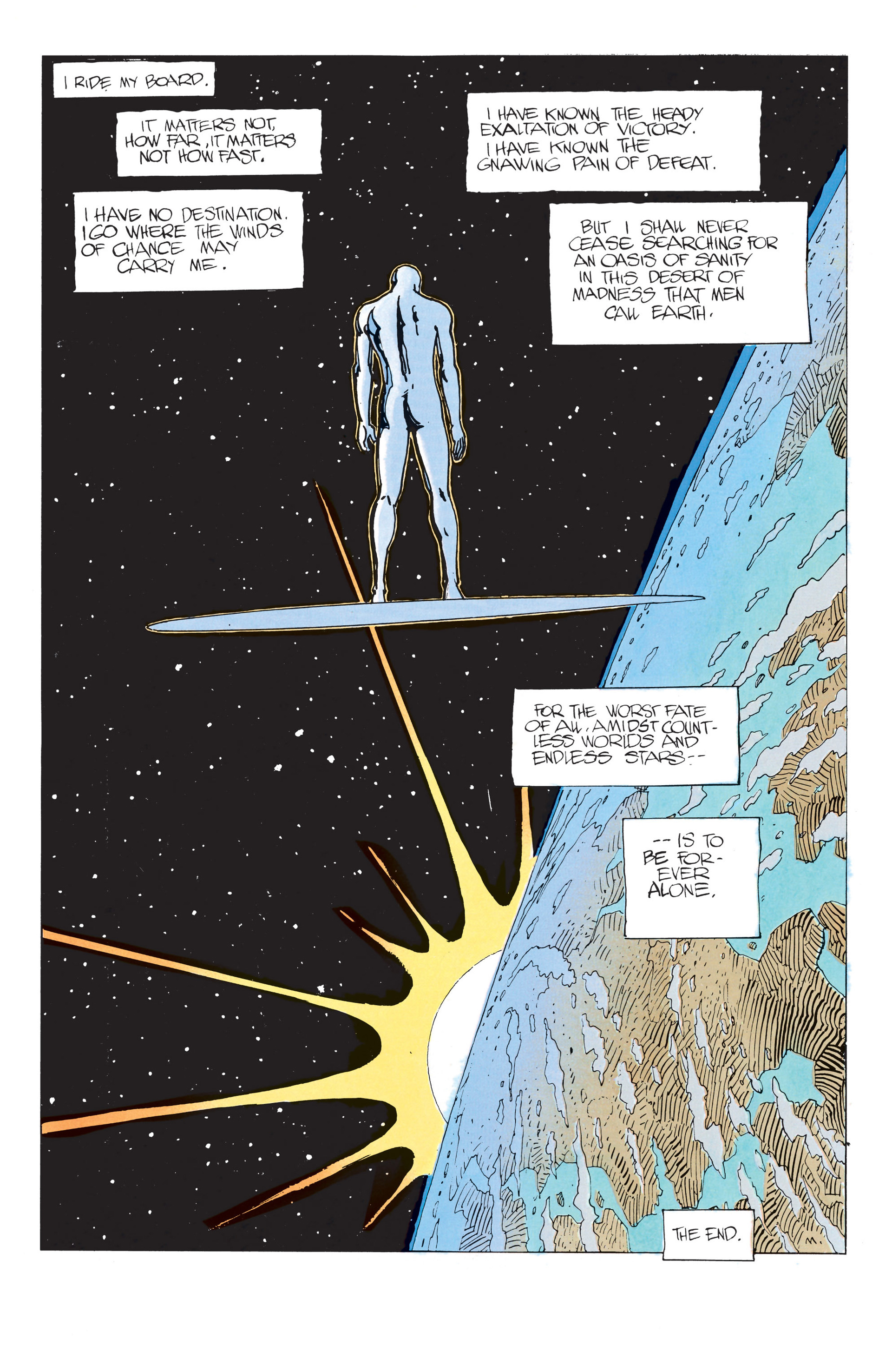 Read online Silver Surfer (1988) comic -  Issue #2 - 35