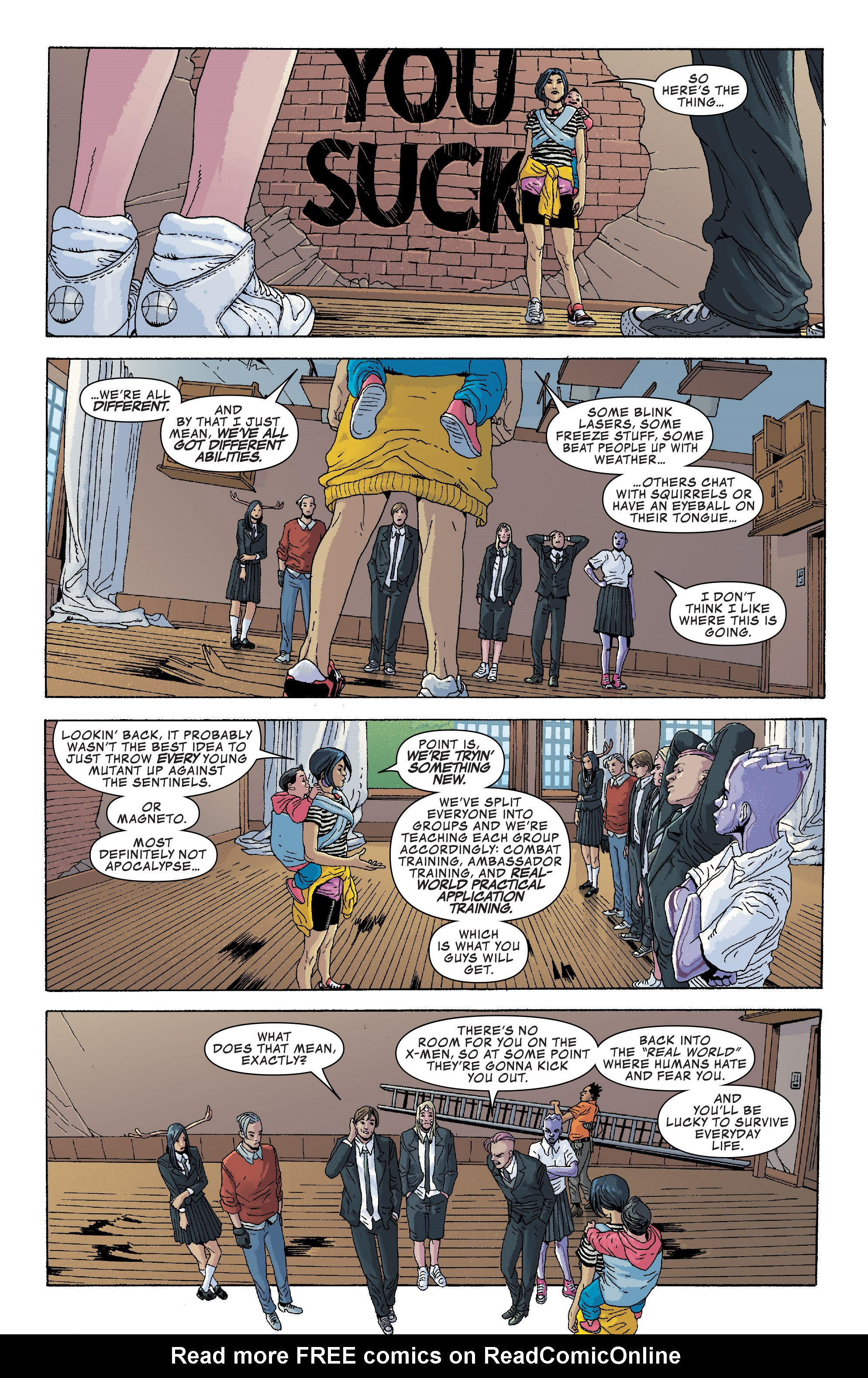 Read online Generation X (2017) comic -  Issue #2 - 20