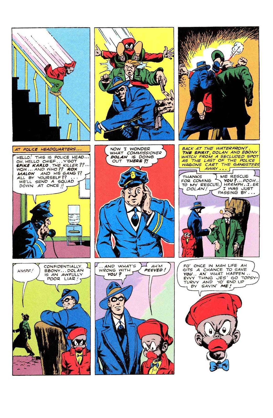 Read online Will Eisner's The Spirit Archives comic -  Issue # TPB 2 (Part 2) - 4