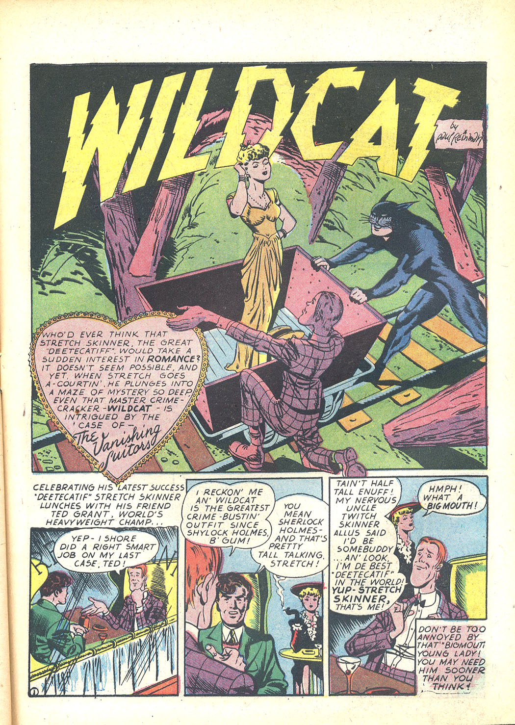 Read online Sensation (Mystery) Comics comic -  Issue #23 - 49