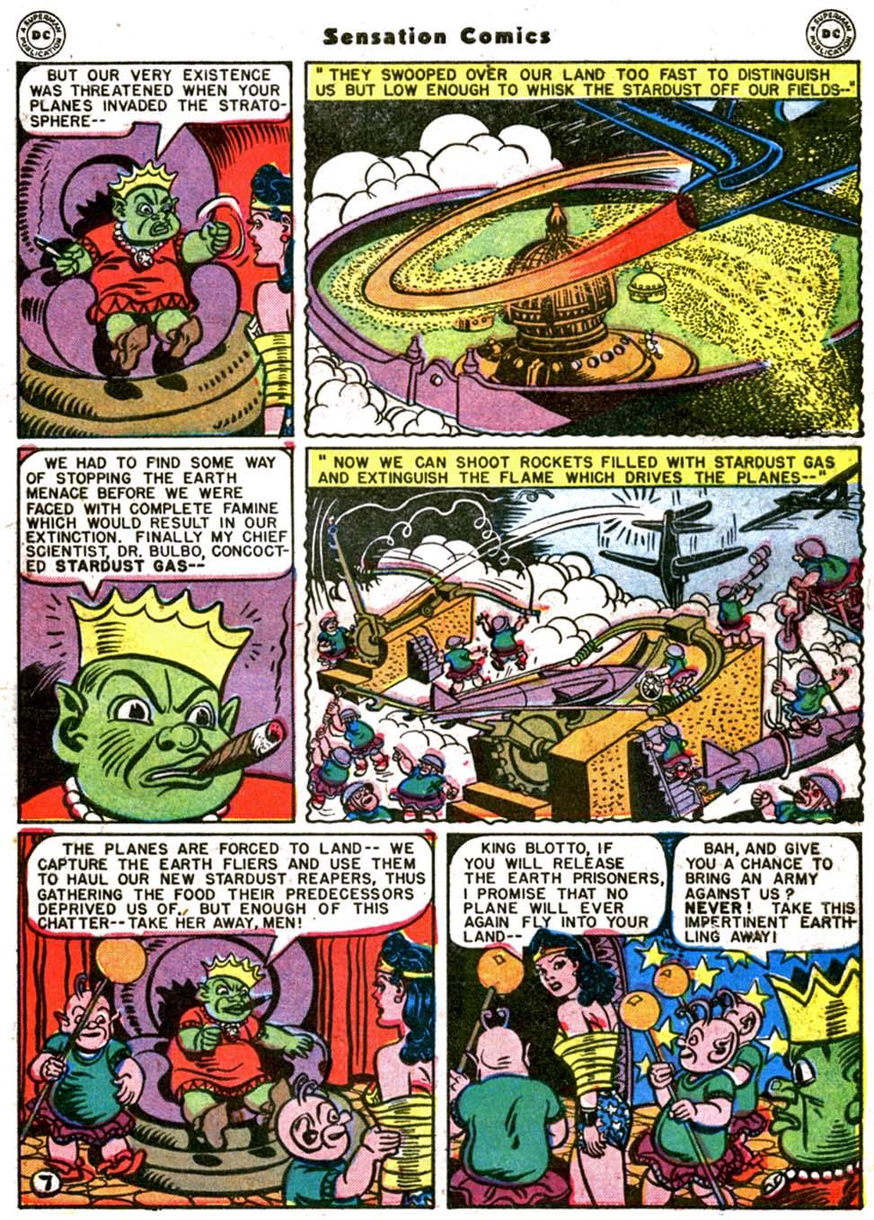 Read online Sensation (Mystery) Comics comic -  Issue #64 - 9