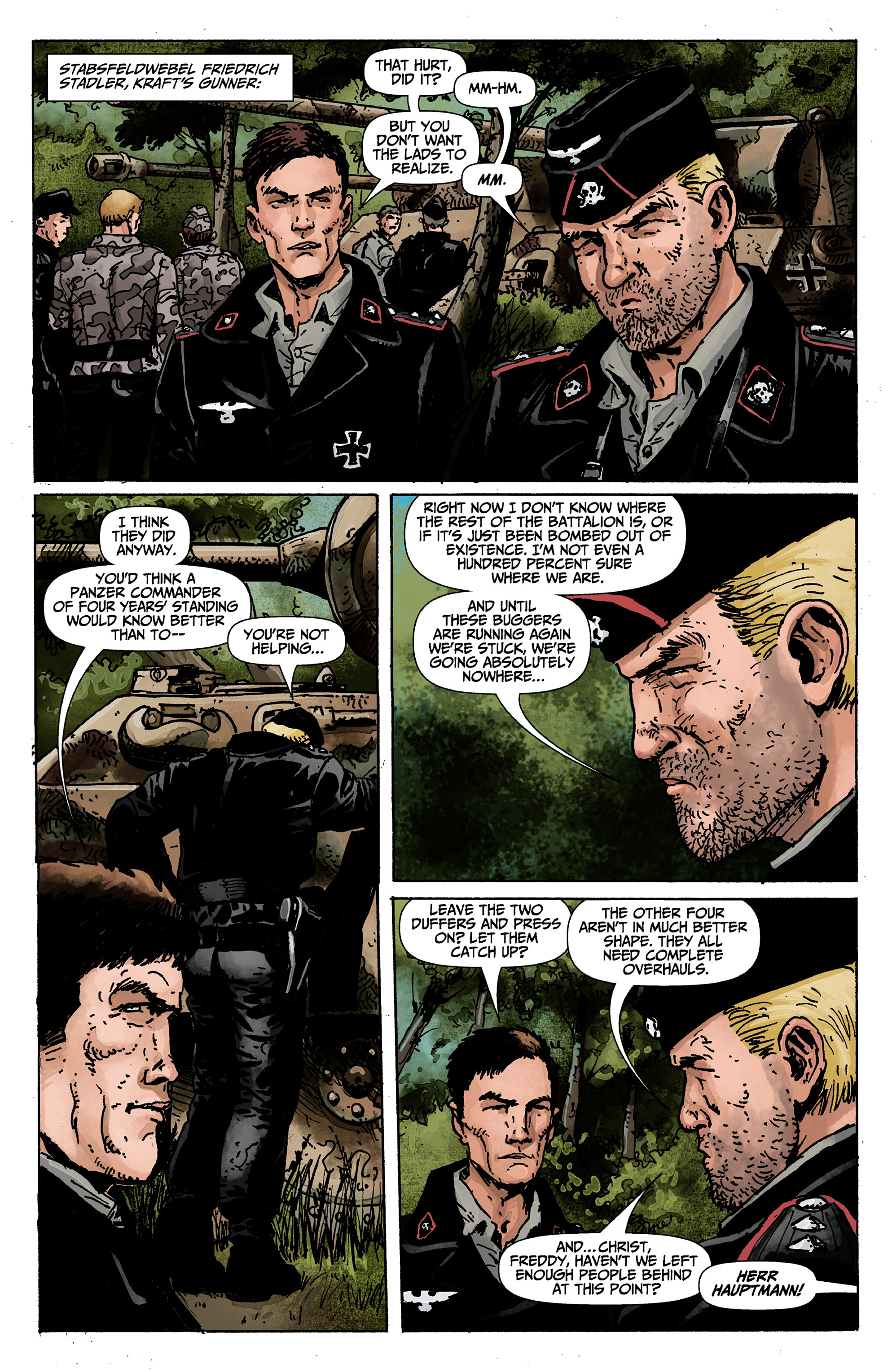 Read online World of Tanks comic -  Issue #1 - 7