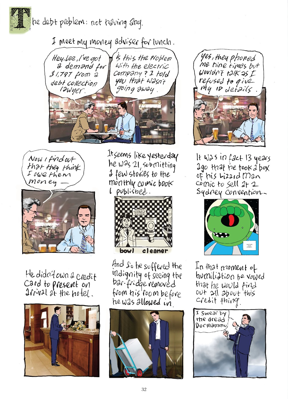 Read online The Lovely Horrible Stuff comic -  Issue # TPB - 34